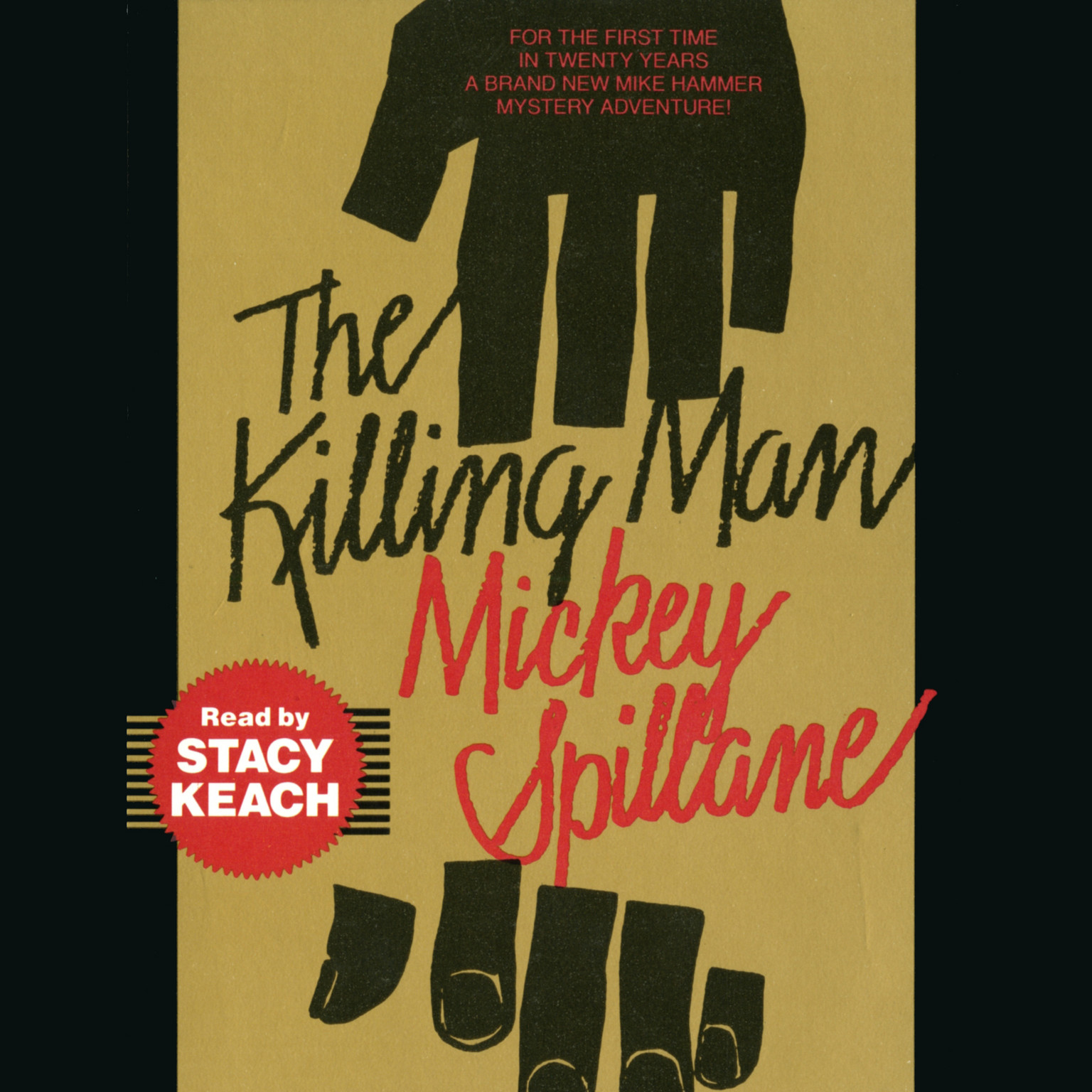Printable The Killing Man Audiobook Cover Art
