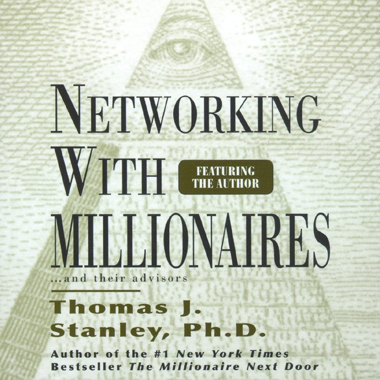 Printable Networking with Millionnaires Audiobook Cover Art