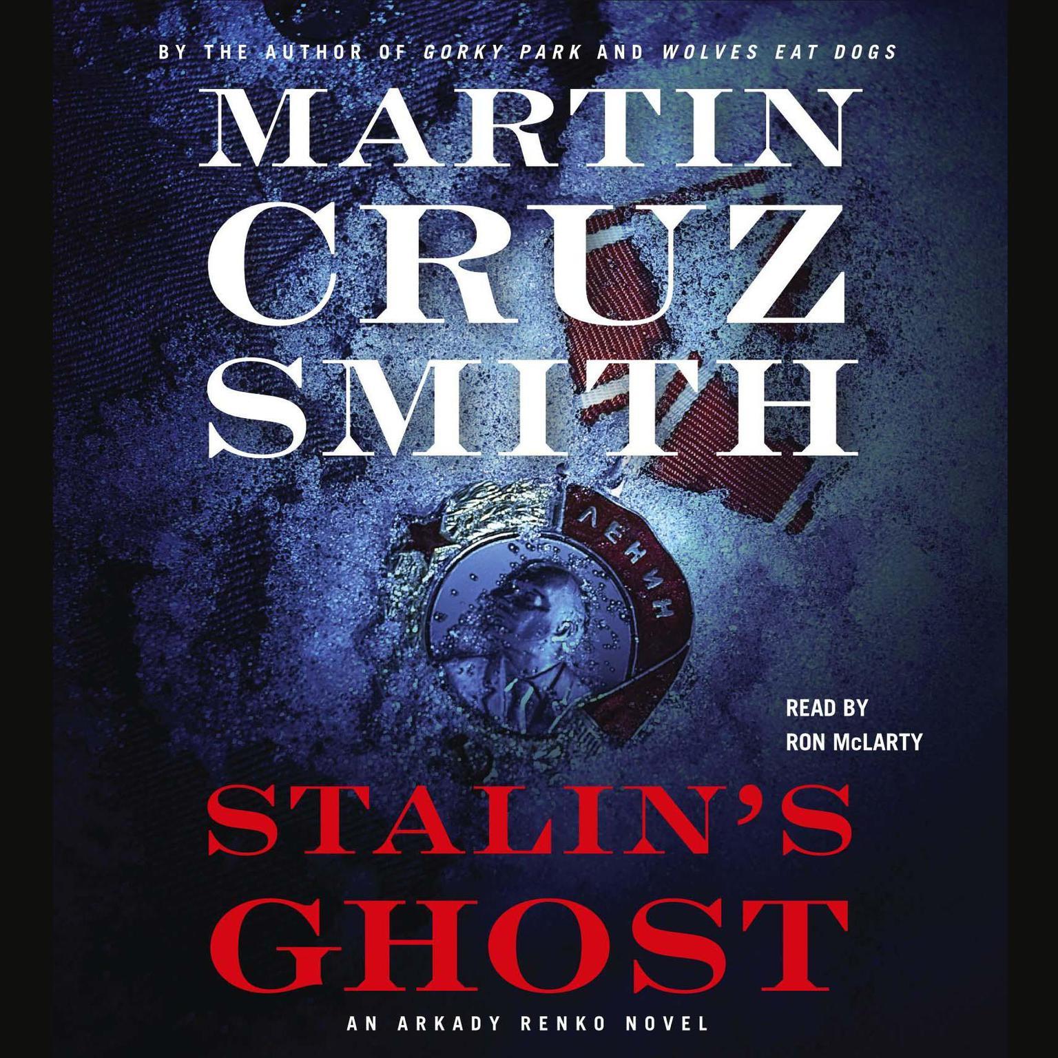 Printable Stalin's Ghost: An Arkady Renko Novel Audiobook Cover Art