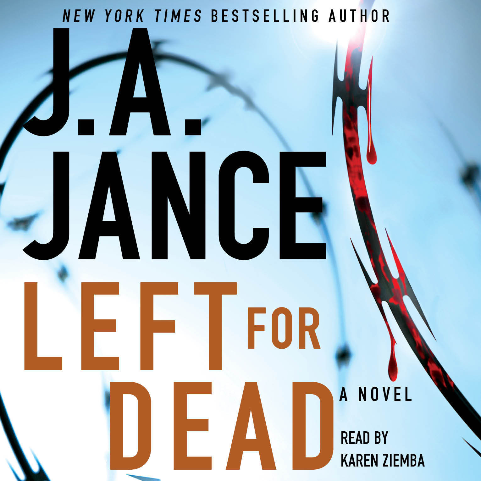 Printable Left for Dead: A Novel Audiobook Cover Art