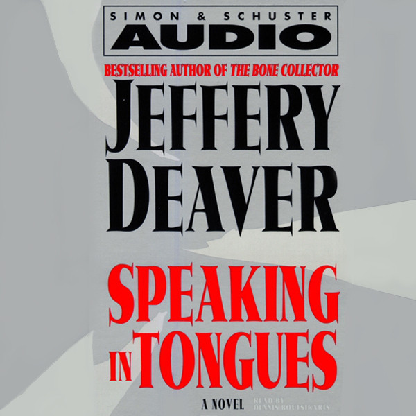 Printable Speaking In Tongues Audiobook Cover Art