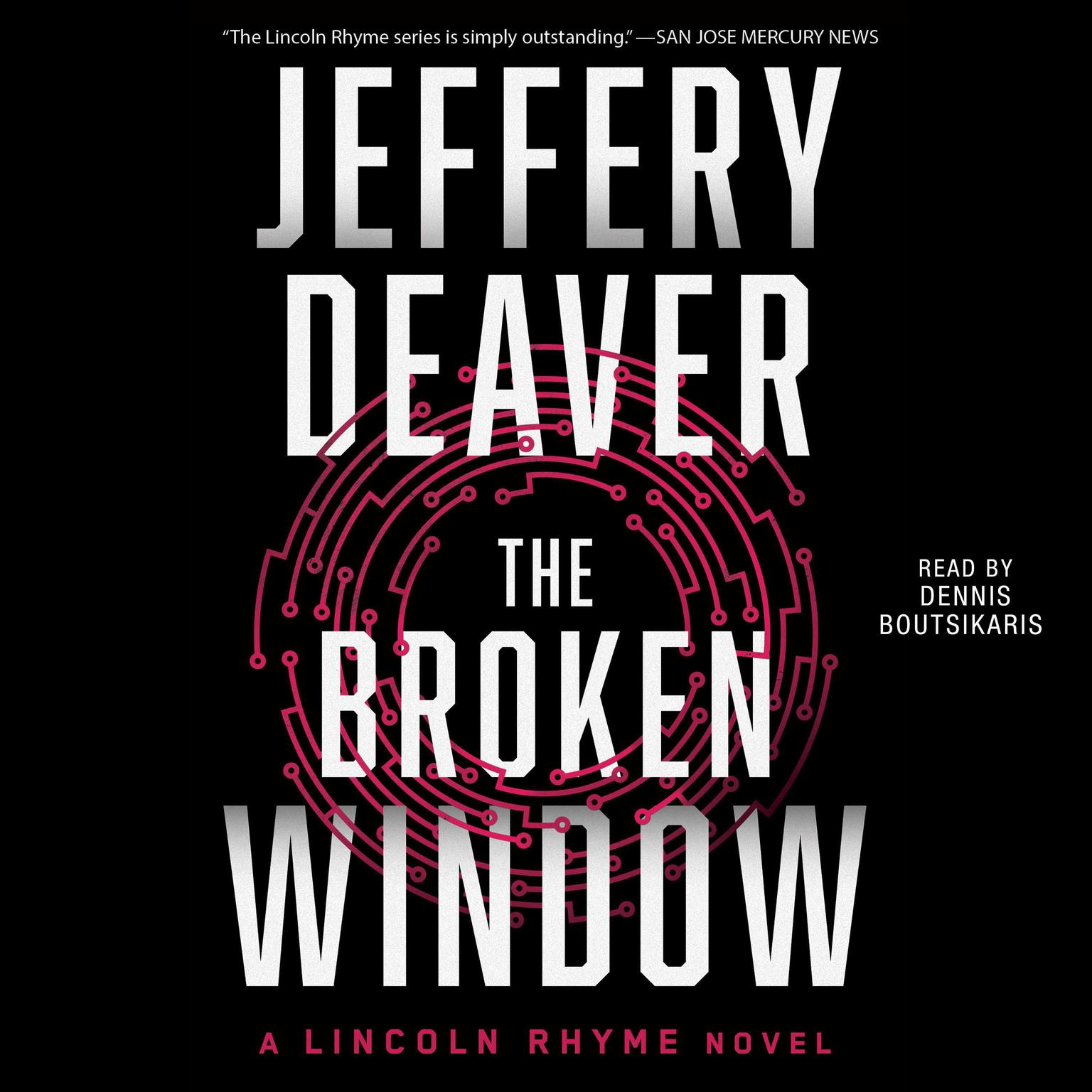 Printable The Broken Window: A Lincoln Rhyme Novel Audiobook Cover Art