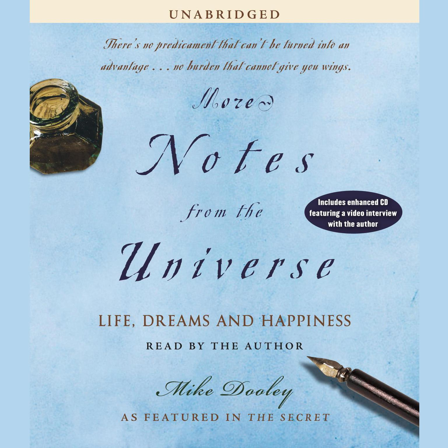 Printable More Notes from the Universe: New Perspectives from an Old Friend Audiobook Cover Art