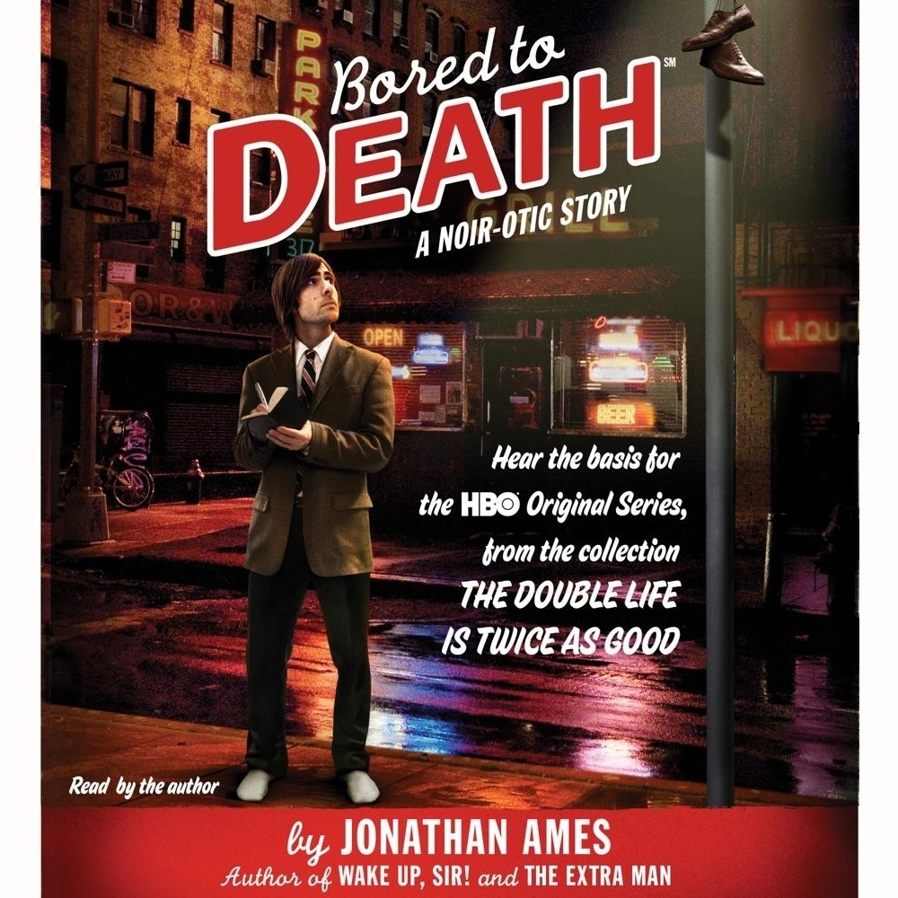 Printable Bored to Death: A Noir-otic Story Audiobook Cover Art