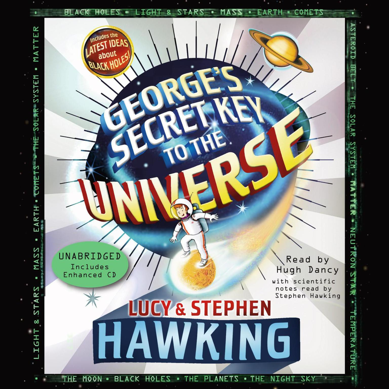 Printable George's Secret Key to the Universe Audiobook Cover Art