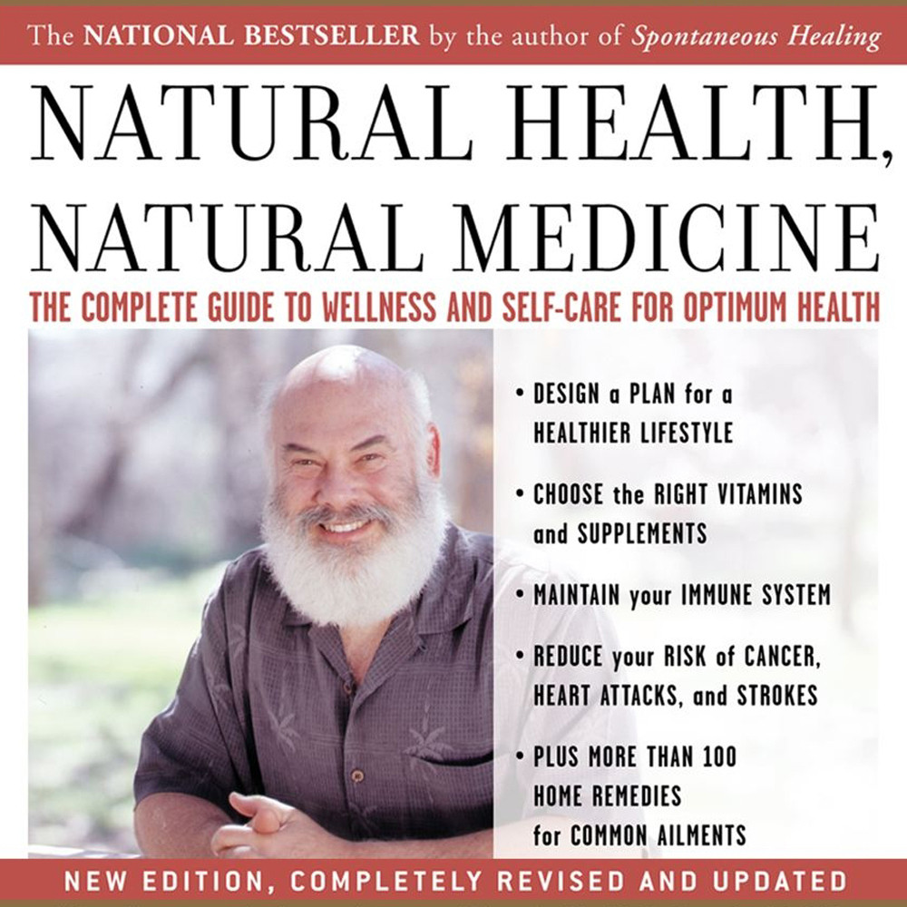 Printable Natural Health, Natural Medicine: The Complete Guide to Wellness and Self-Care for Optimum Health Audiobook Cover Art