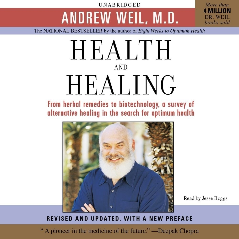 Printable Health and Healing: The Philosophy of Integrative Medicine and Optimum Health Audiobook Cover Art