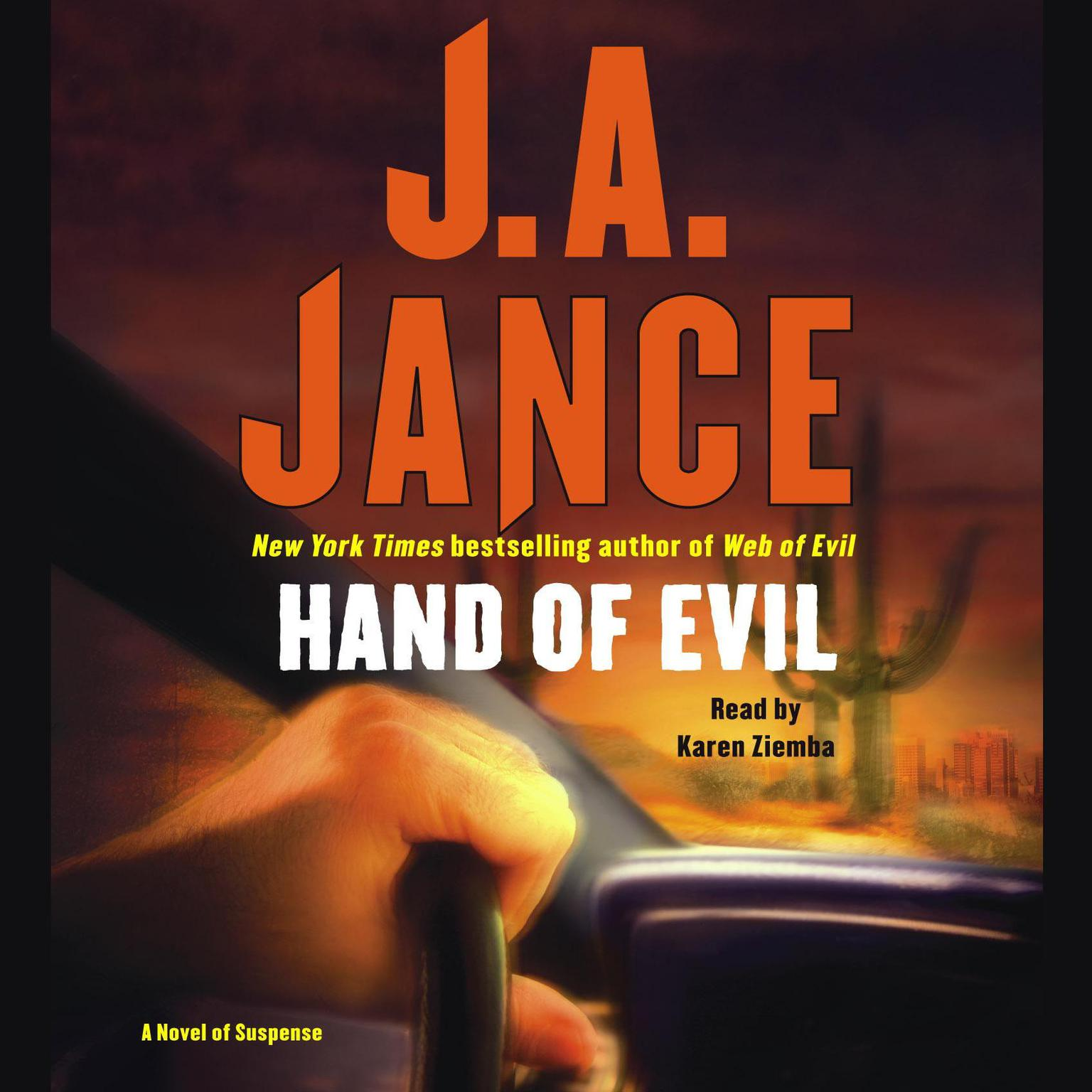 Printable Hand of Evil Audiobook Cover Art