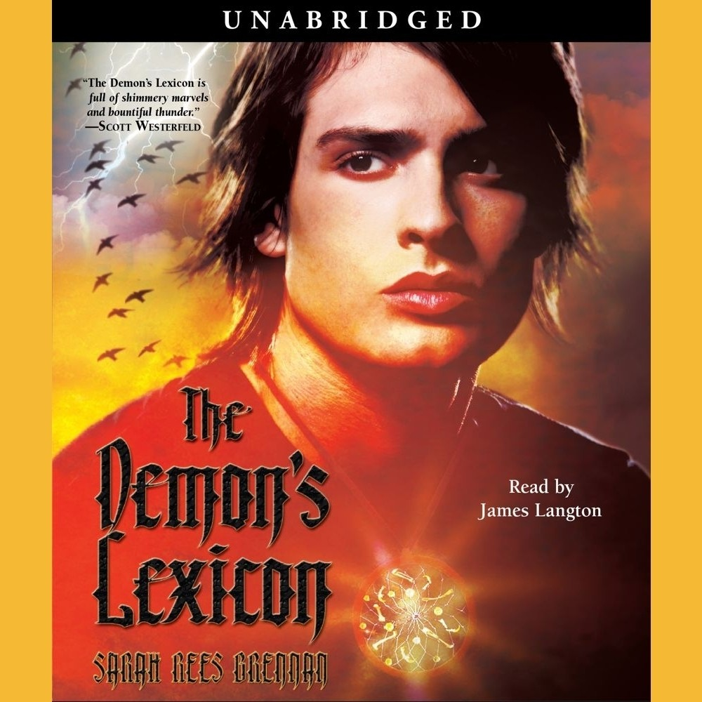Printable The Demon's Lexicon Audiobook Cover Art