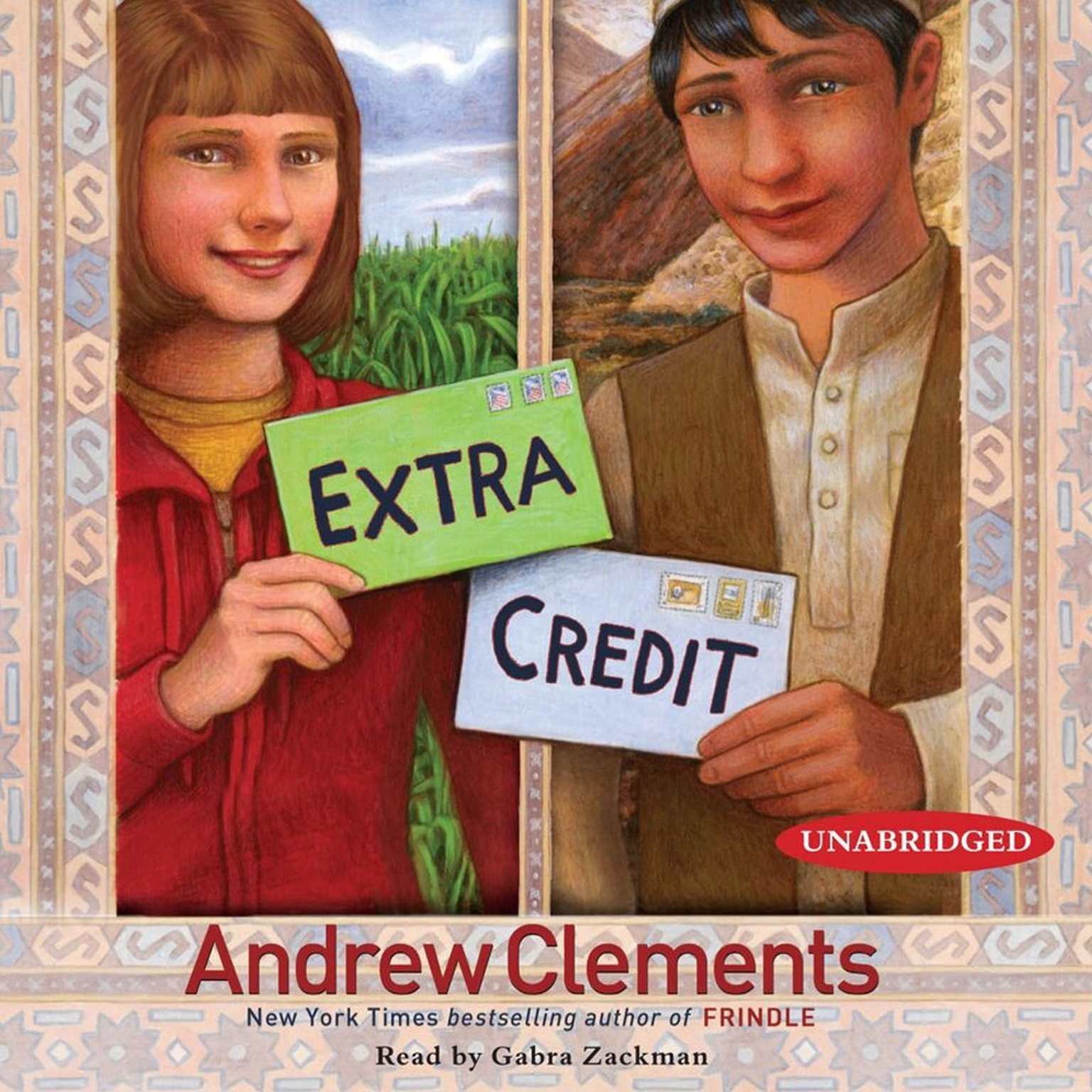 Printable Extra Credit Audiobook Cover Art