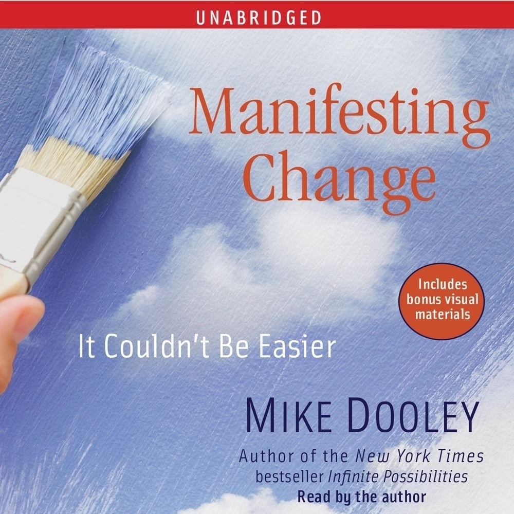 Printable Manifesting Change: It Couldn't Be Easier Audiobook Cover Art