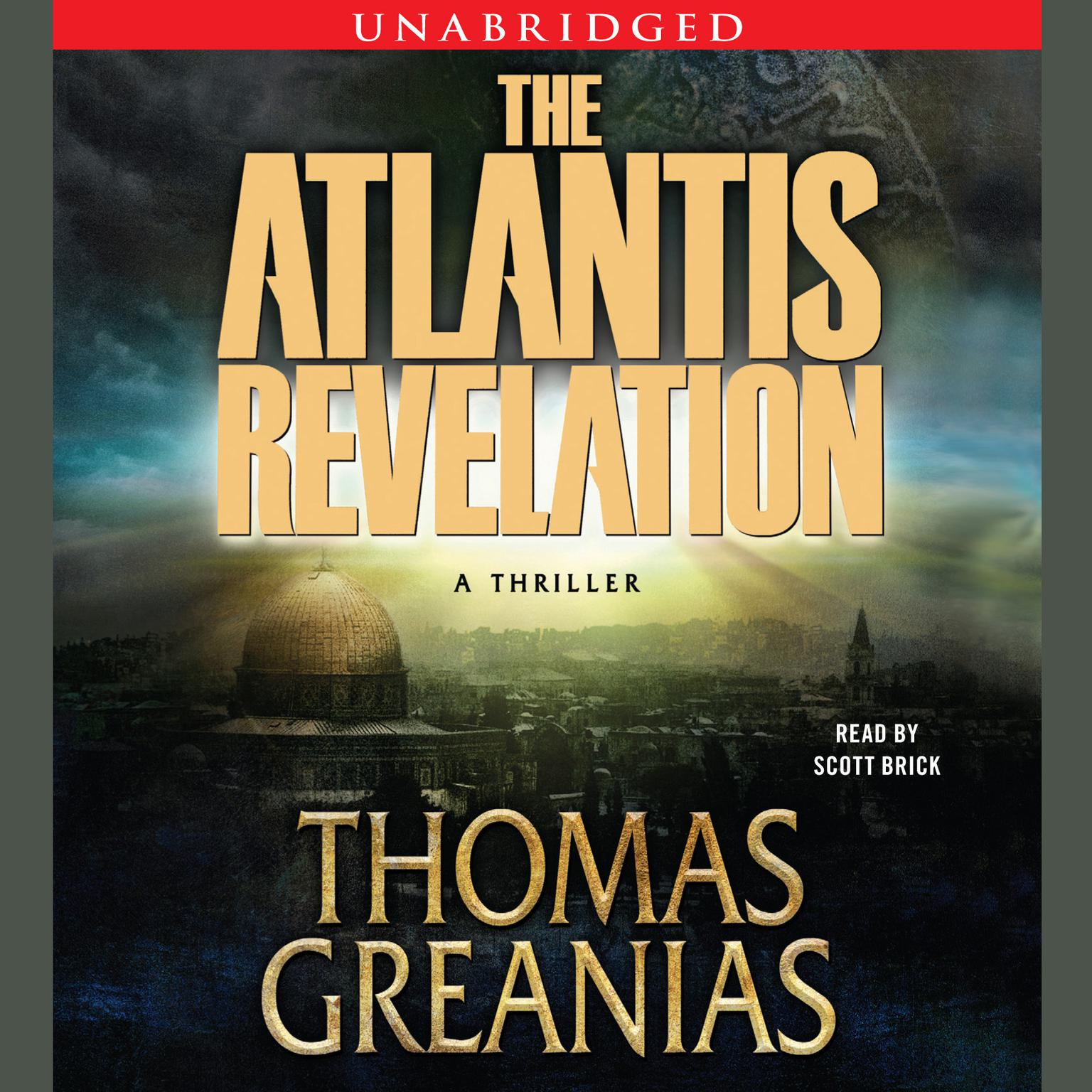 Printable The Atlantis Revelation Audiobook Cover Art