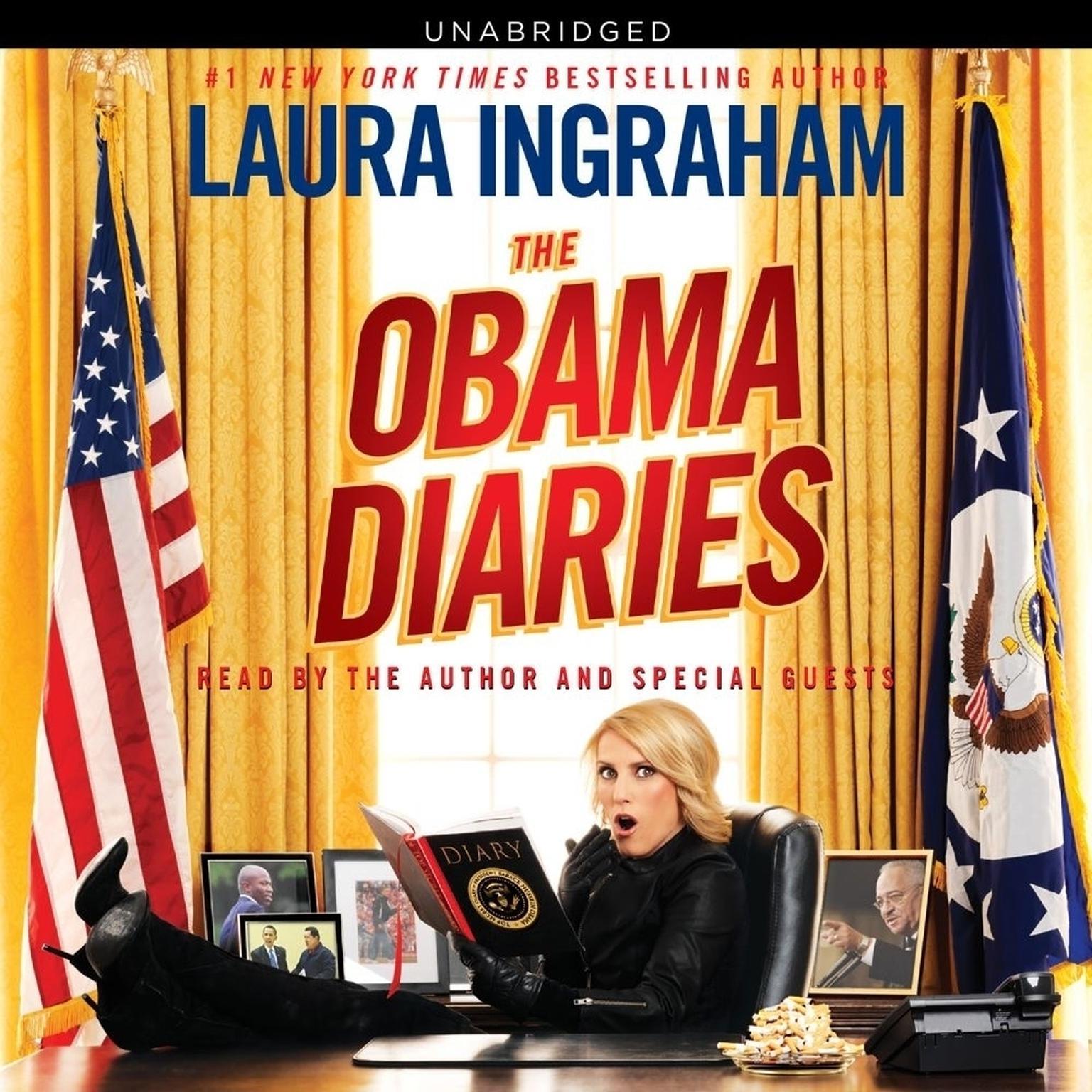 Printable Obama Diaries: Defeating Obama, Saving America Audiobook Cover Art