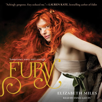 Fury Audiobook, by Elizabeth Miles