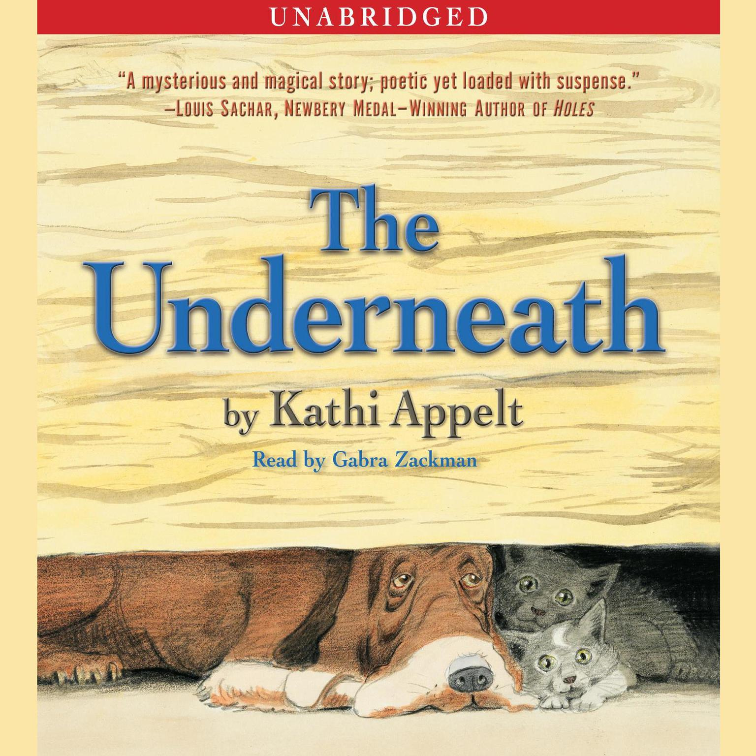 Printable The Underneath Audiobook Cover Art