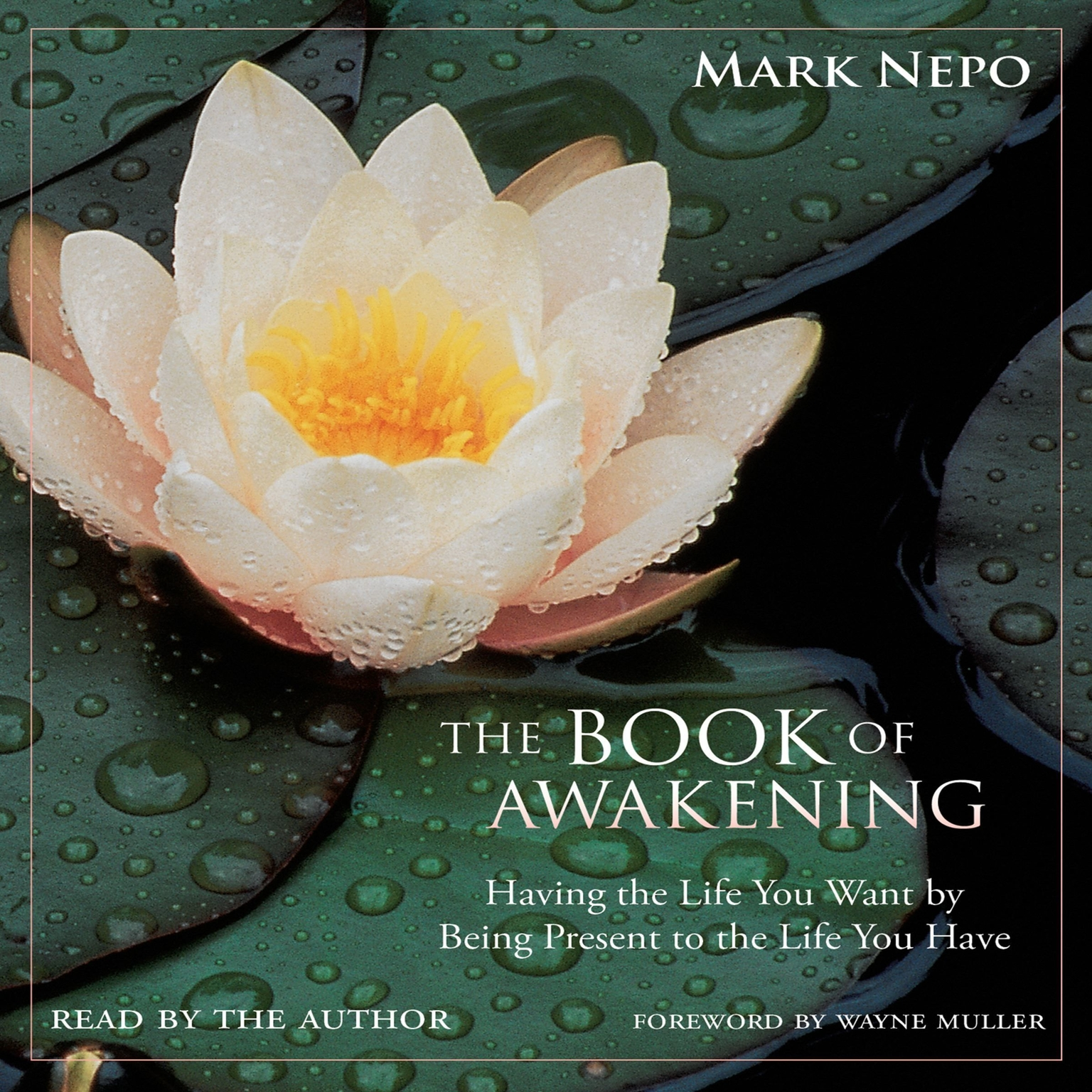 Printable The Book of Awakening: Having the Life You Want by Being Present to the Life You Have Audiobook Cover Art