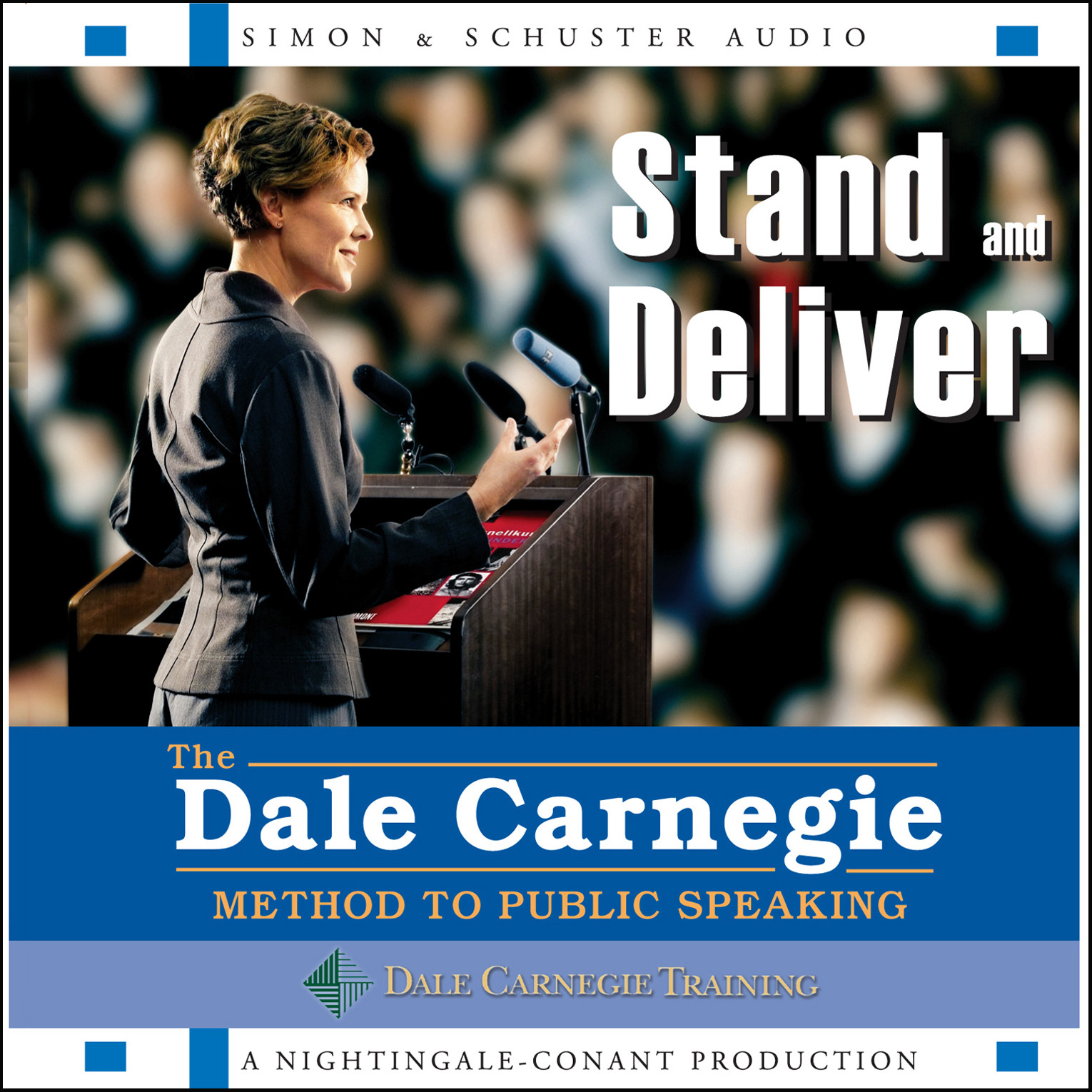 Printable Stand and Deliver: The Dale Carnegie Method to Public Speaking Audiobook Cover Art