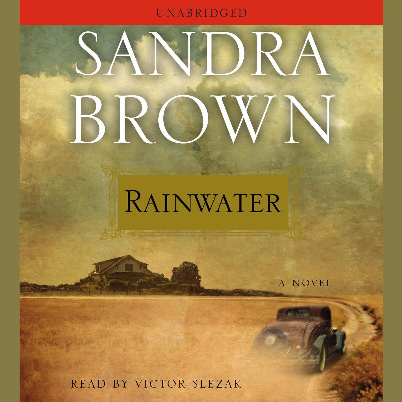 Printable Rainwater Audiobook Cover Art