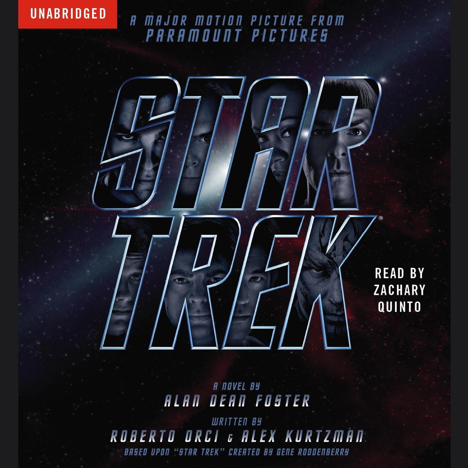 Printable Star Trek Movie Tie-In Audiobook Cover Art
