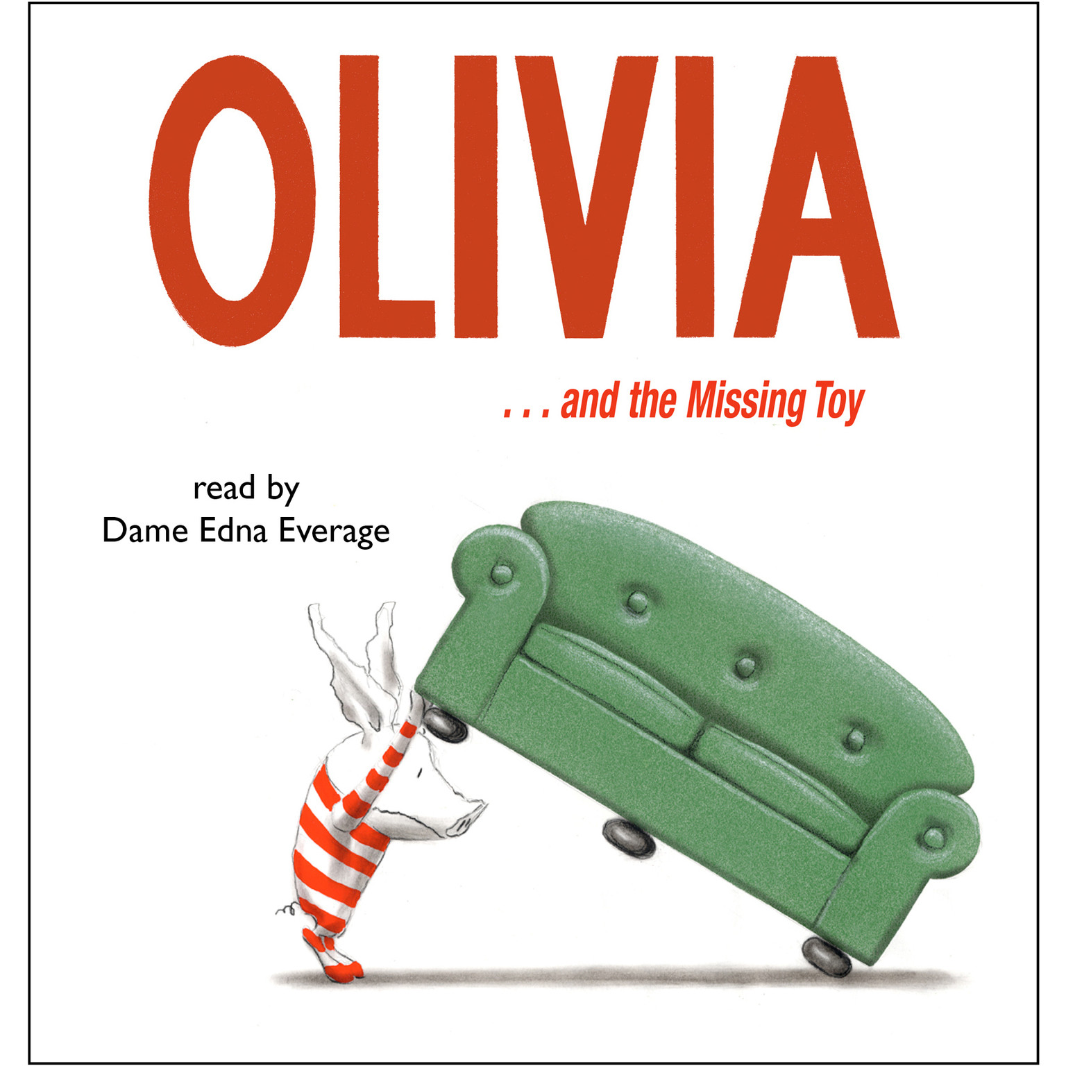 Printable Olivia... and the Missing Toy Audiobook Cover Art