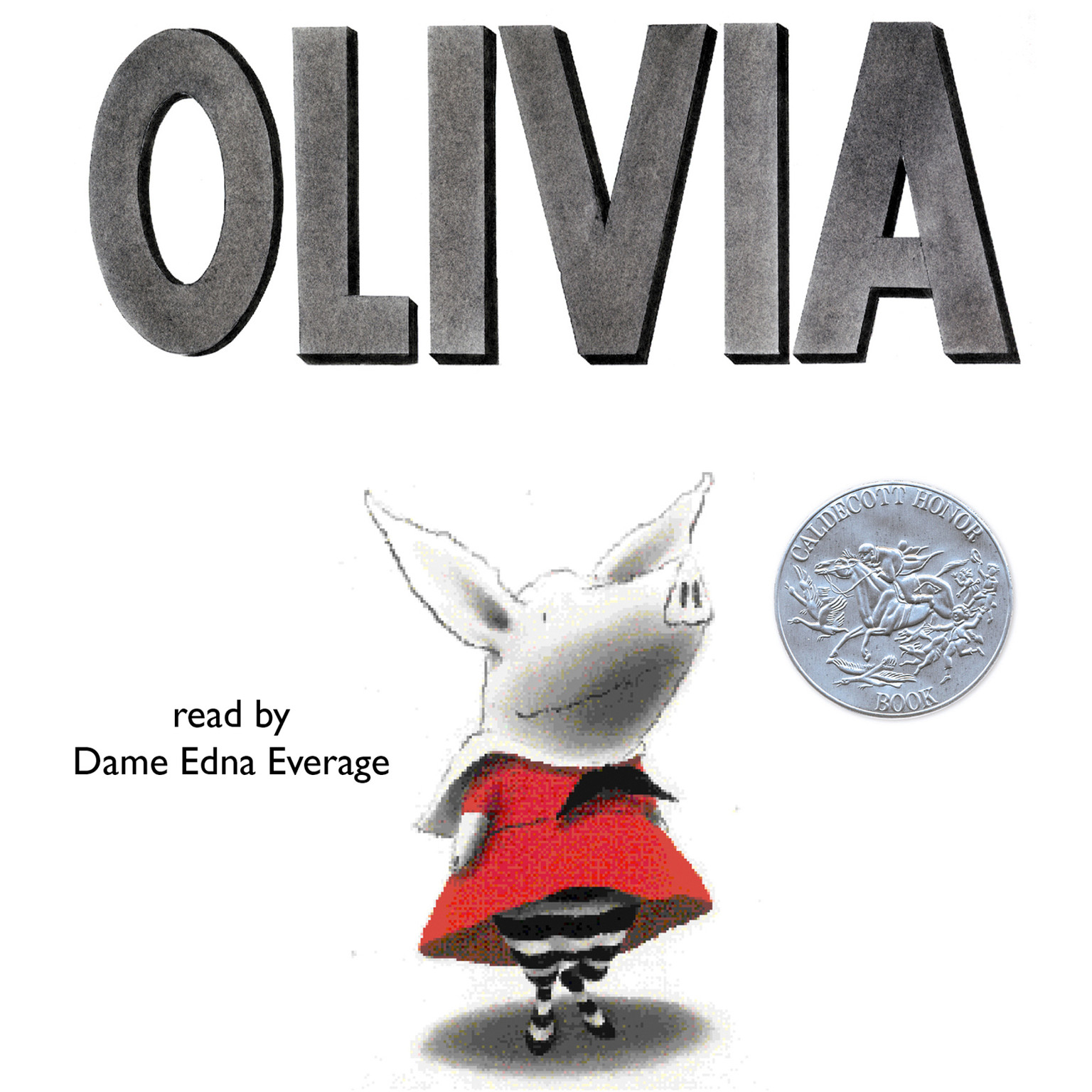 Printable Olivia Audiobook Cover Art