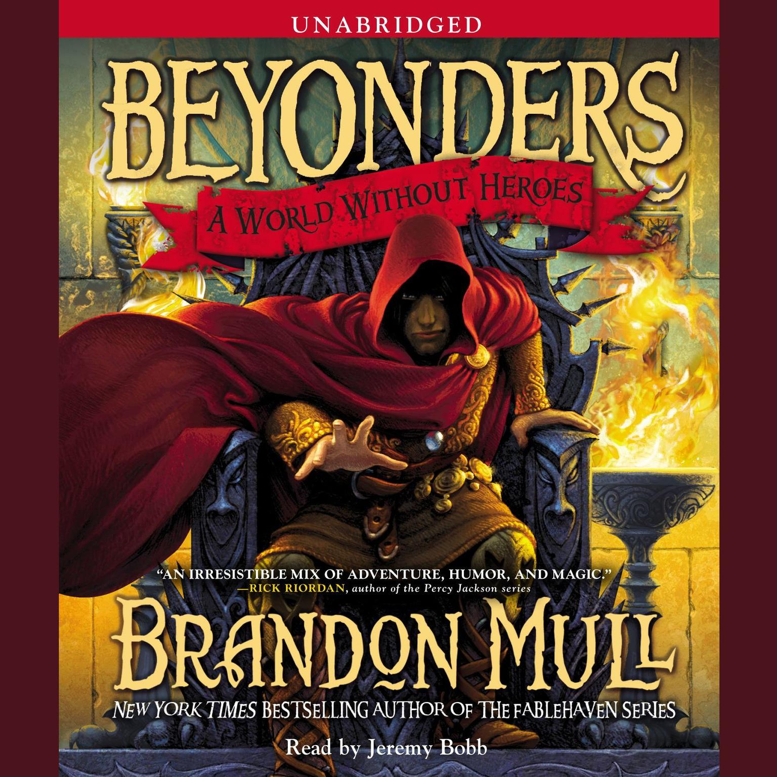 Printable A World Without Heroes: Beyonders, Book 1 Audiobook Cover Art