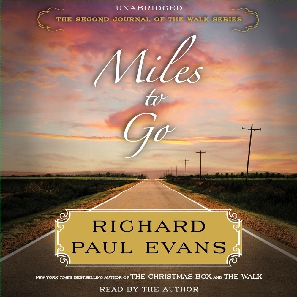 Printable Miles to Go: The Second Journal of the Walk Series Audiobook Cover Art