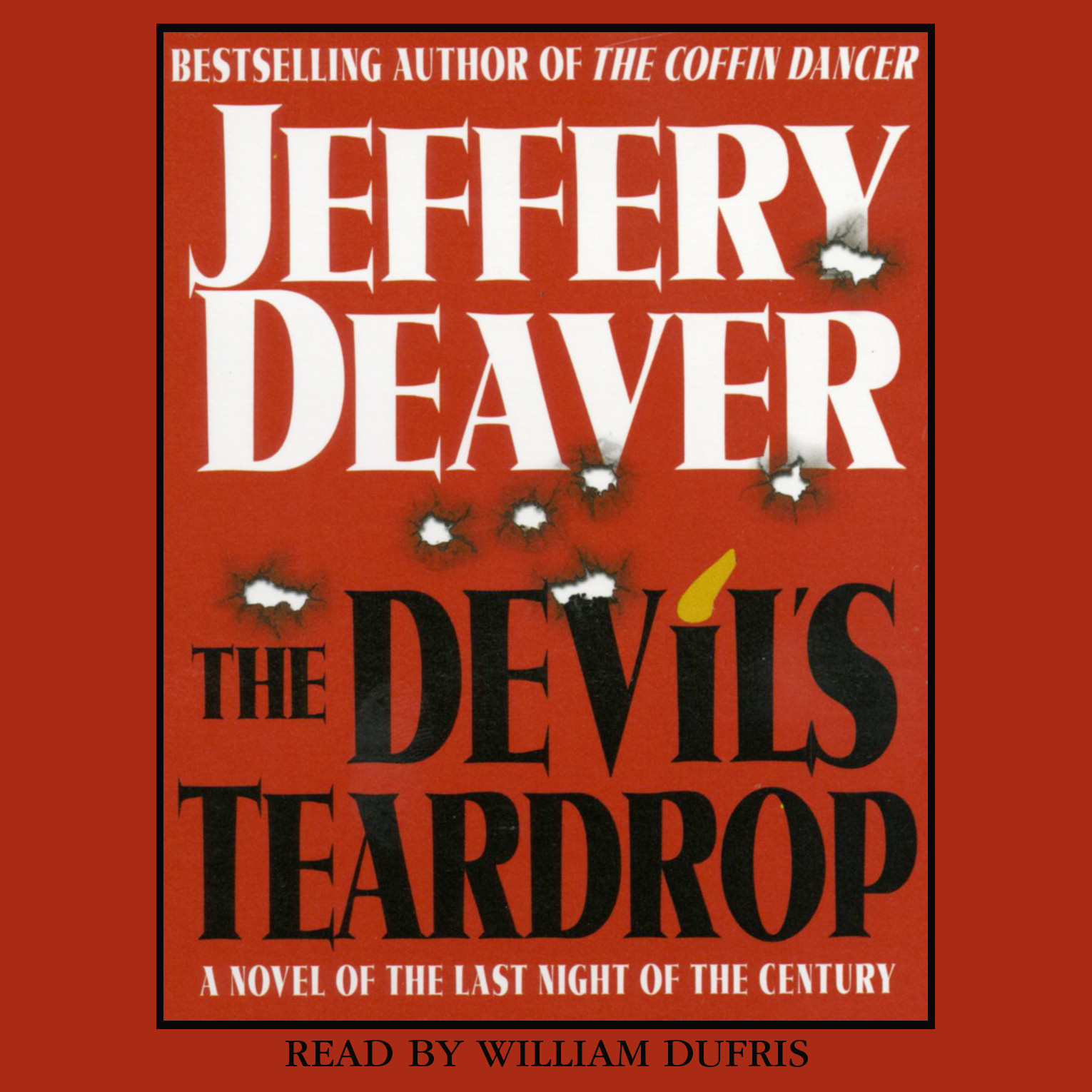 Printable Devil's Teardrop: A Novel of the Last Night of the Century Audiobook Cover Art