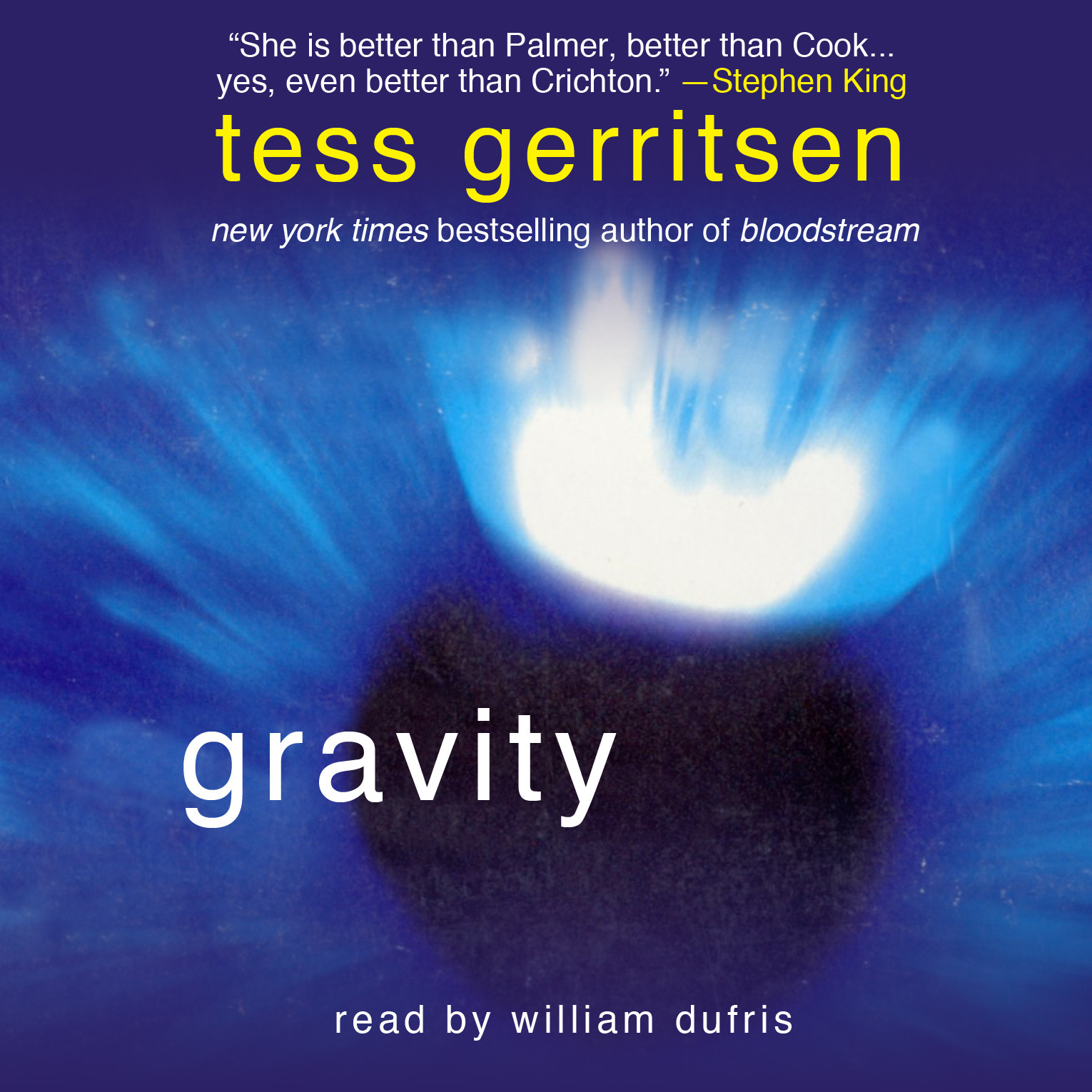 Printable Gravity Audiobook Cover Art