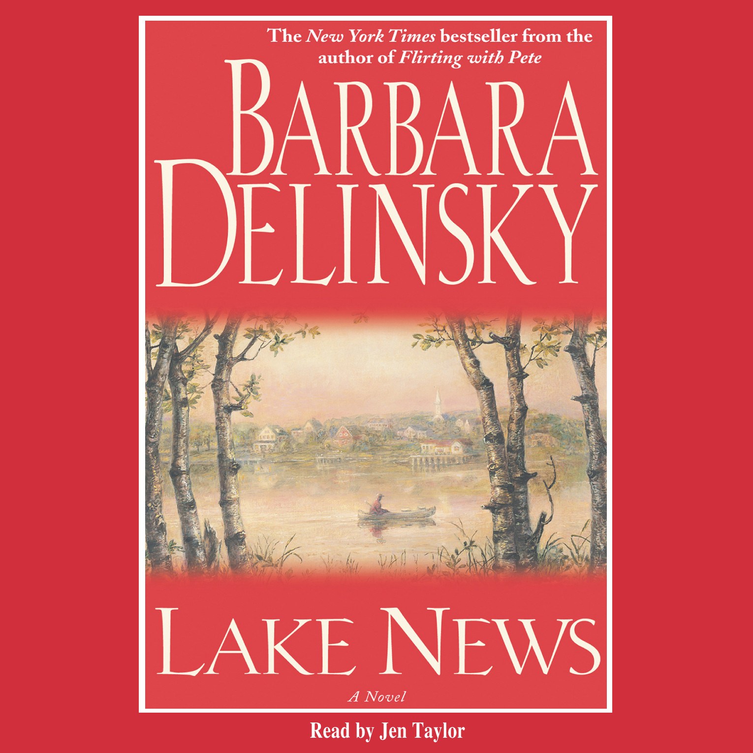 Printable Lake News Audiobook Cover Art