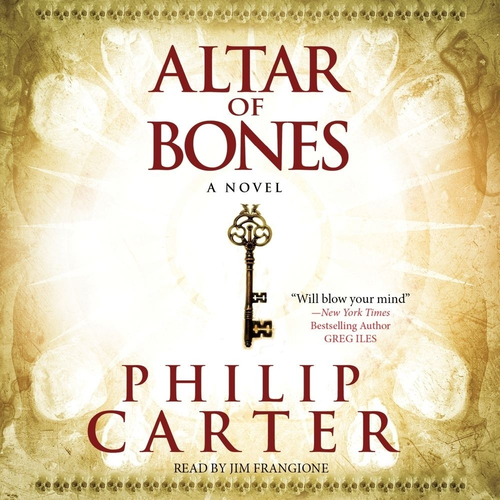 Printable Altar of Bones Audiobook Cover Art