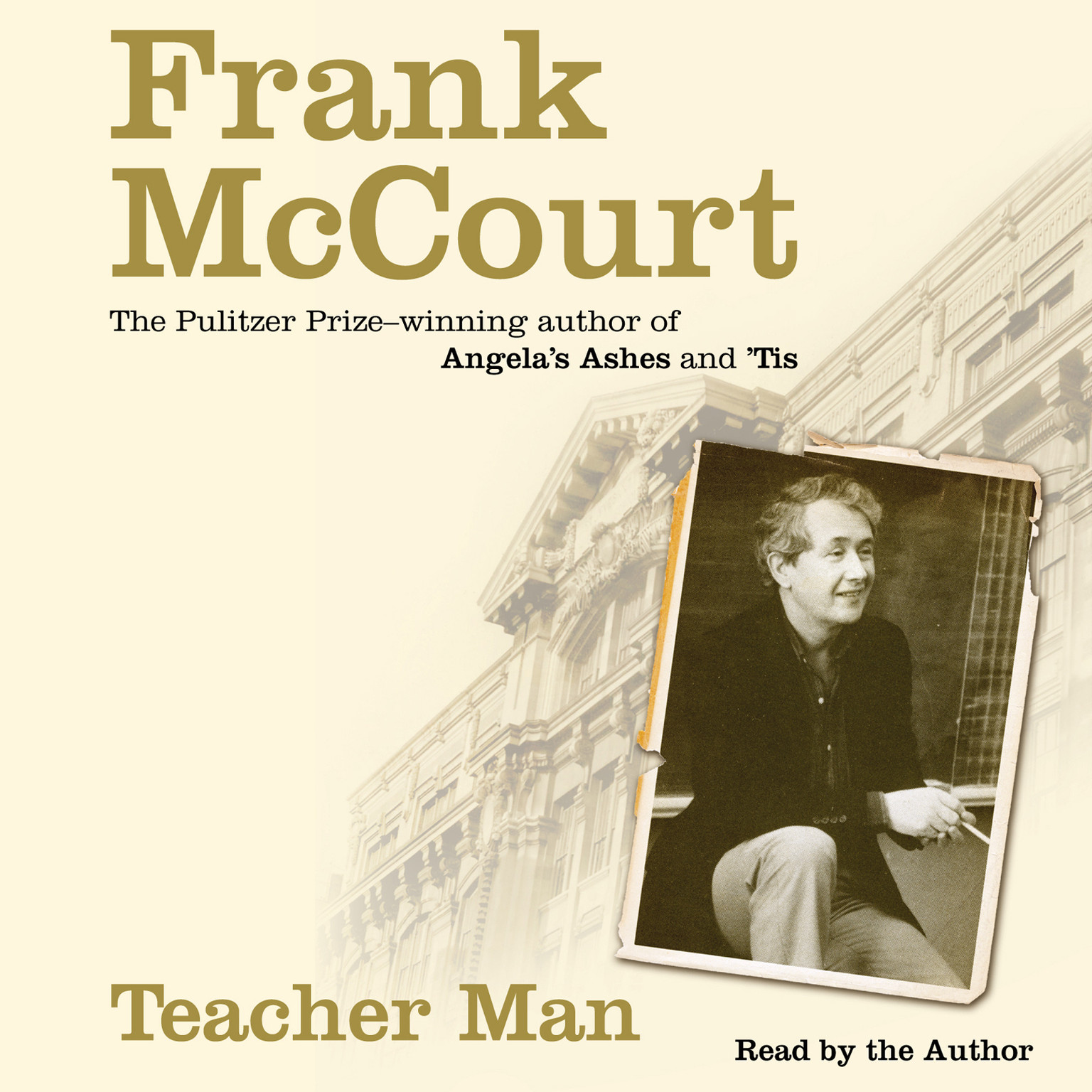 Printable Teacher Man: A Memoir Audiobook Cover Art