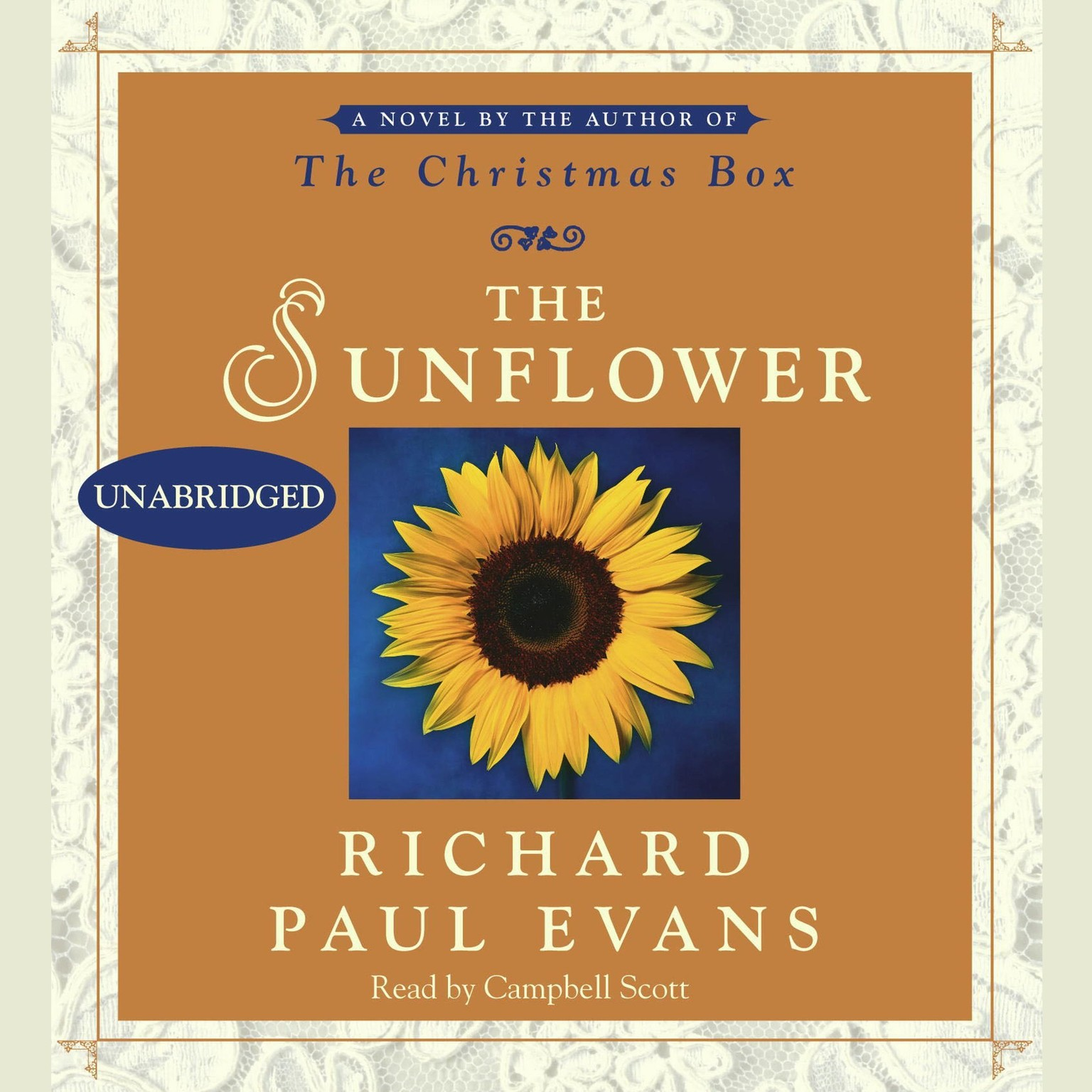 Printable The Sunflower: A Novel Audiobook Cover Art