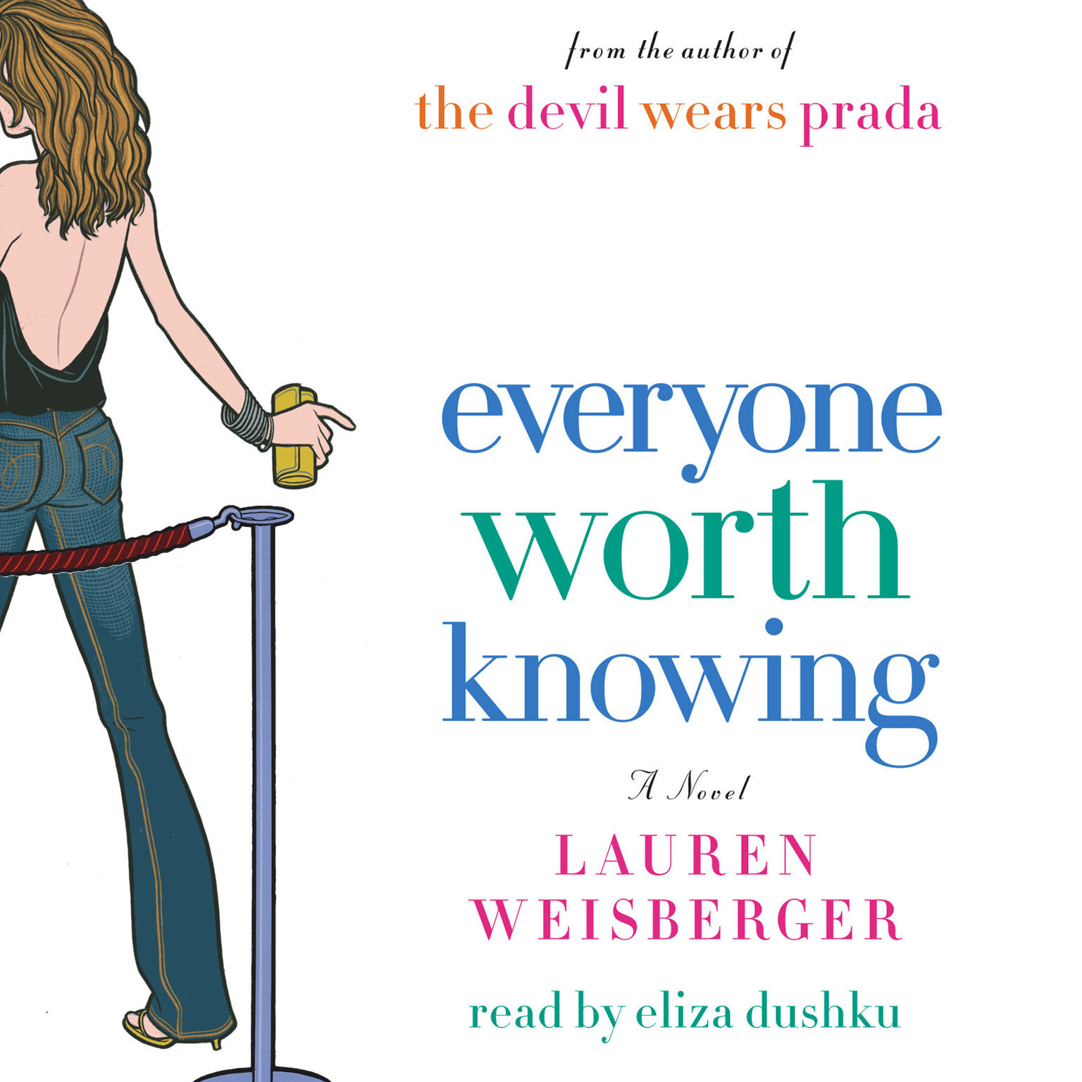 Printable Everyone Worth Knowing Audiobook Cover Art