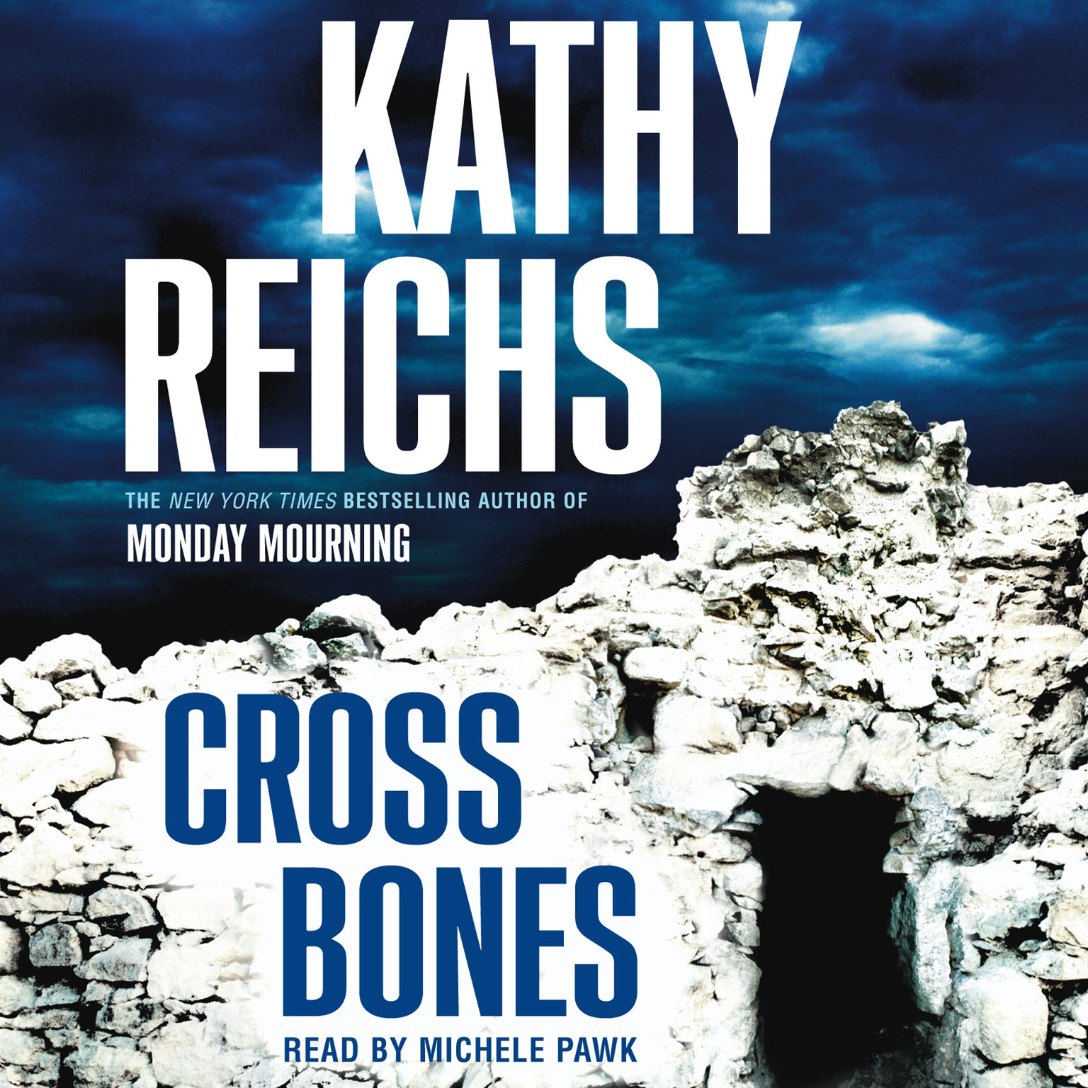Printable Cross Bones: A Novel Audiobook Cover Art