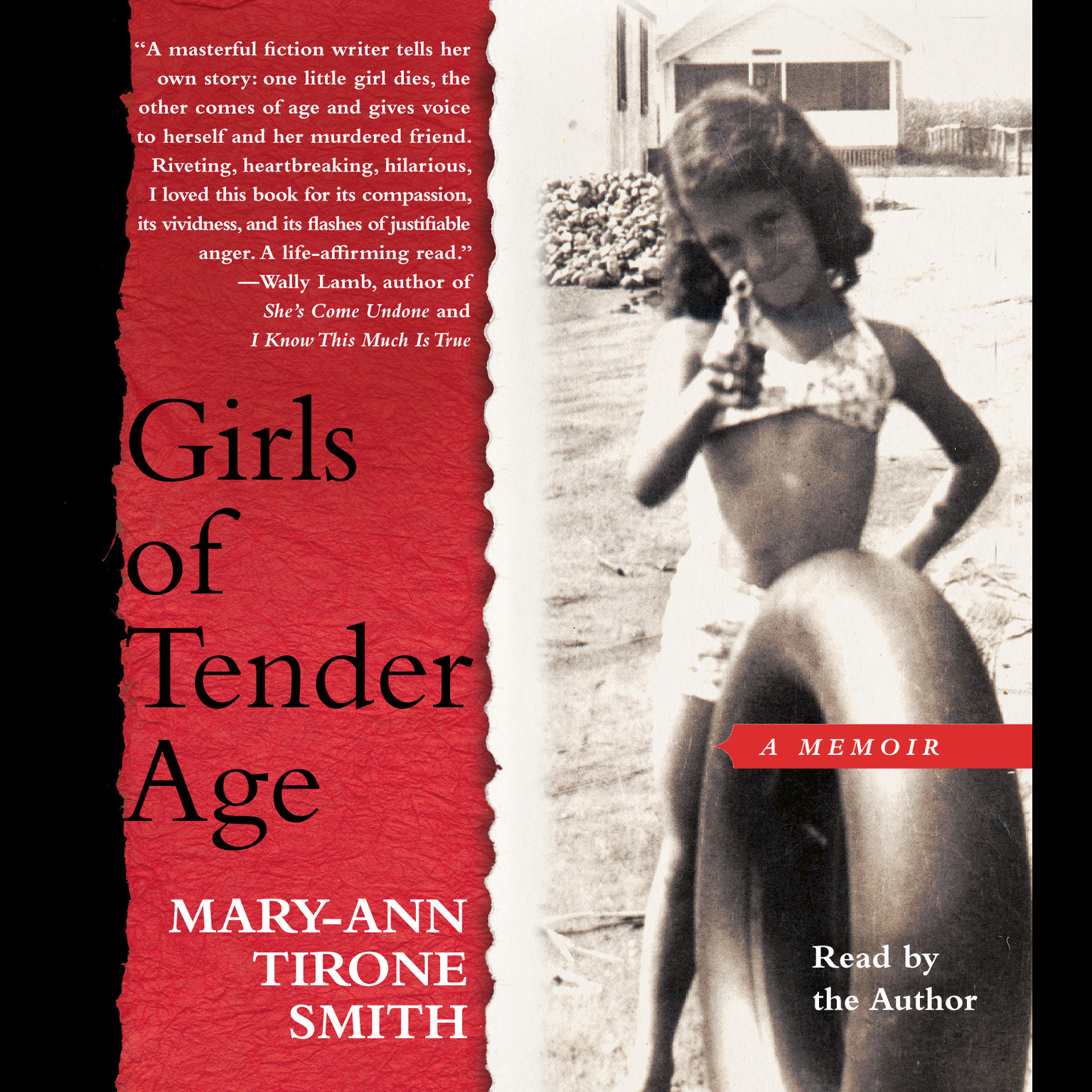 Printable Girls of Tender Age: A Memoir Audiobook Cover Art