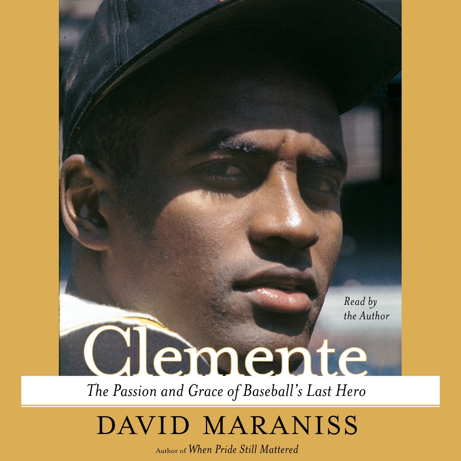 Printable Clemente: The Passion and Grace of Baseball's Last Hero Audiobook Cover Art