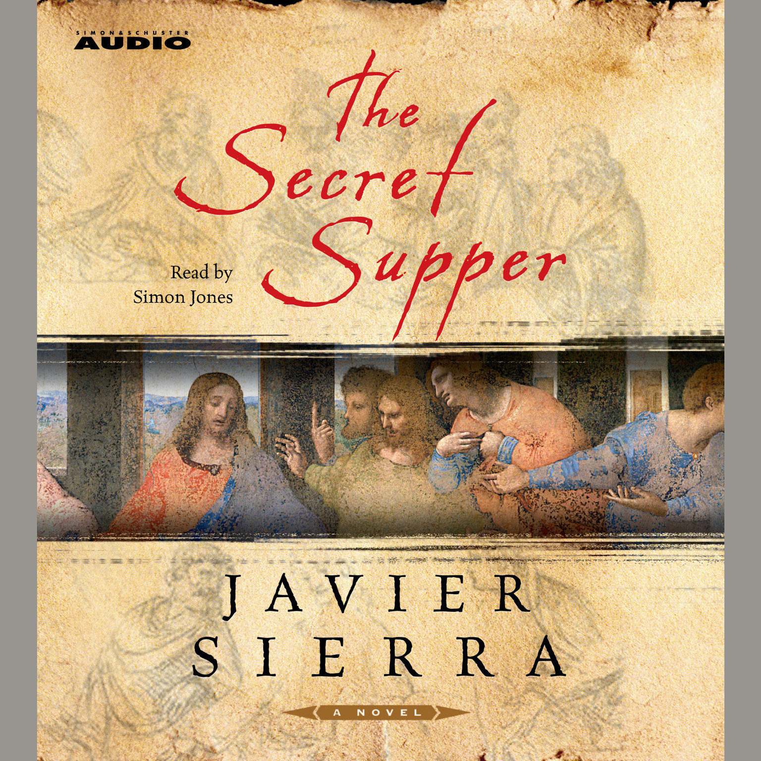 Printable The Secret Supper: A Novel Audiobook Cover Art