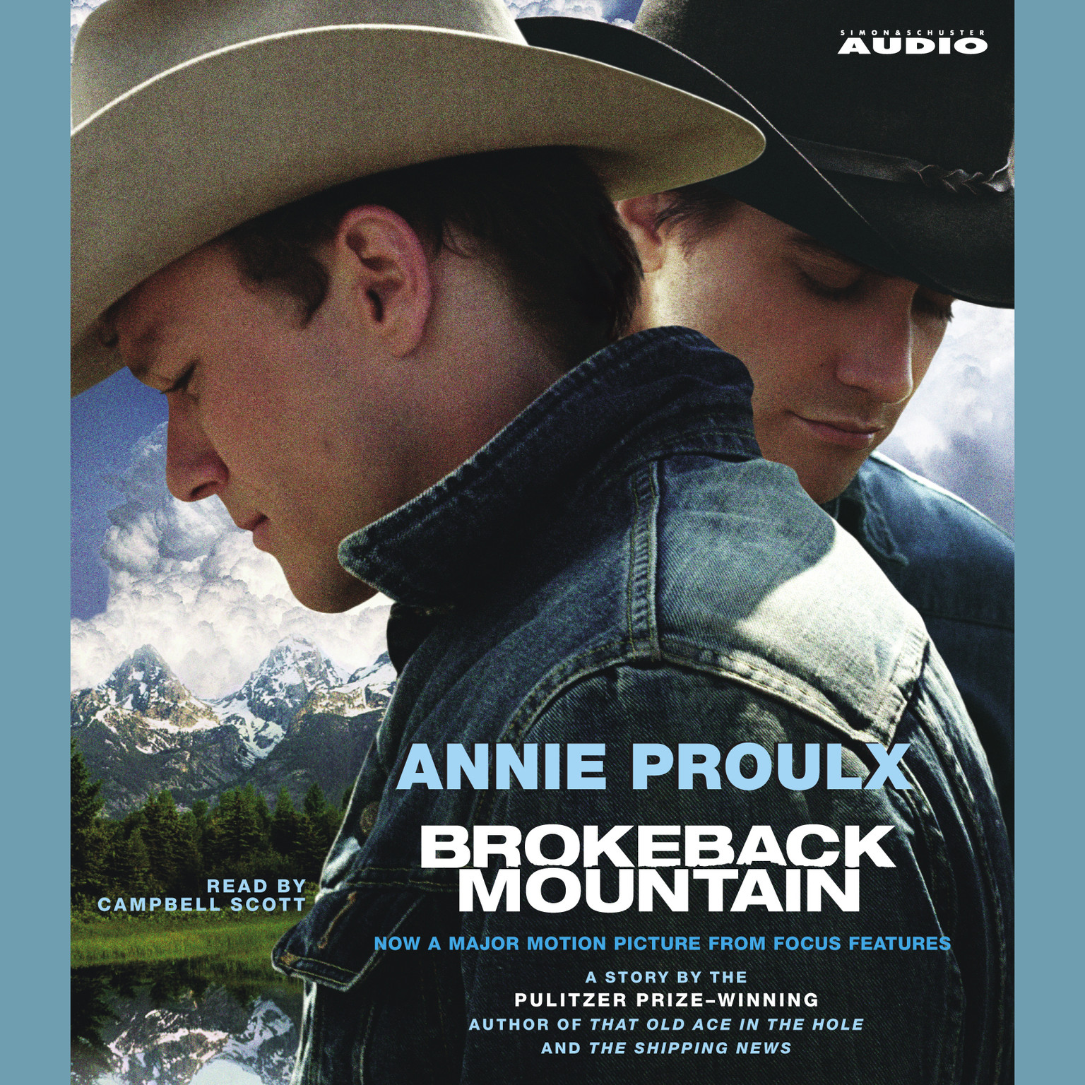 Printable Brokeback Mountain Audiobook Cover Art
