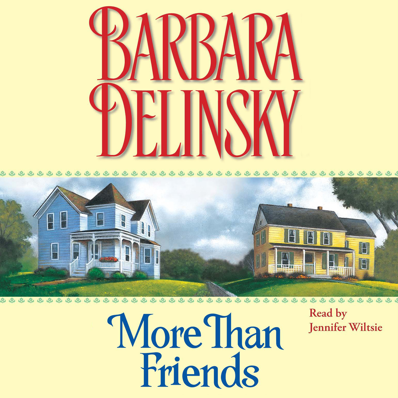 Printable More Than Friends Audiobook Cover Art