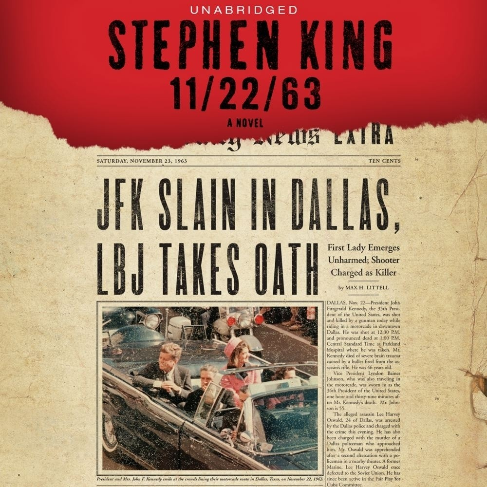 Cover of the book 11/22/63.