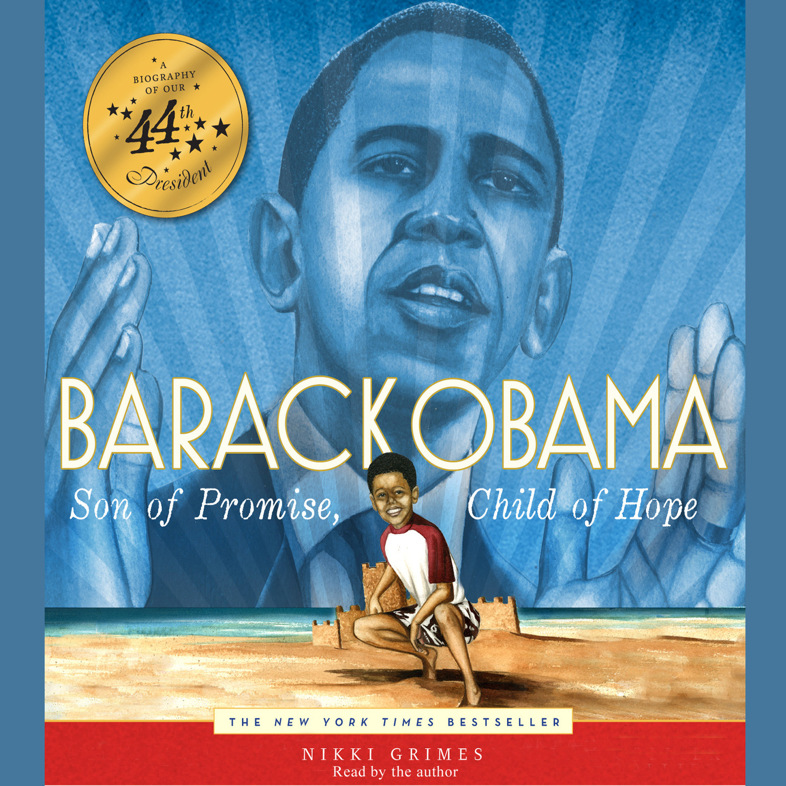 Printable Barack Obama: Son of Promise, Child of Hope Audiobook Cover Art