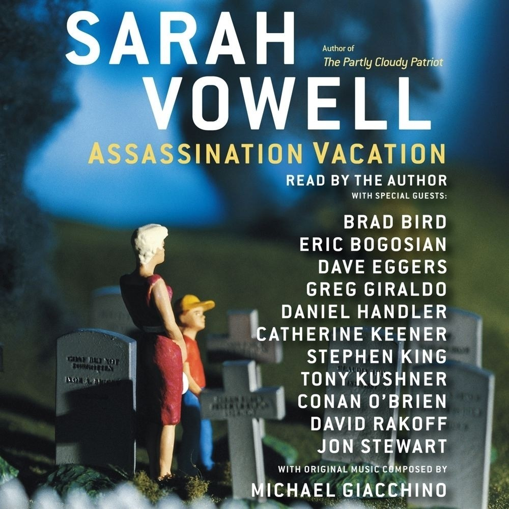Printable Assassination Vacation Audiobook Cover Art