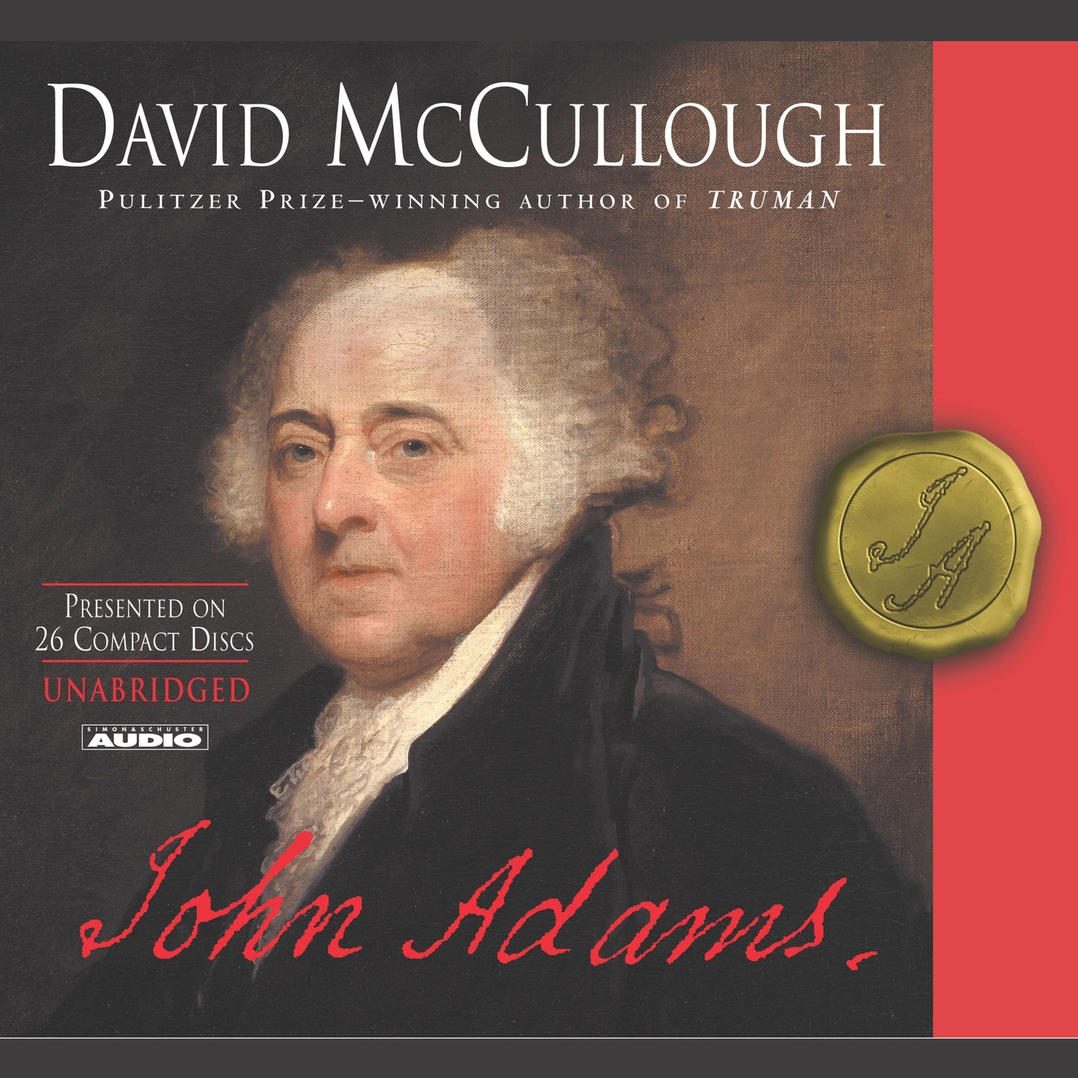 Printable John Adams Audiobook Cover Art