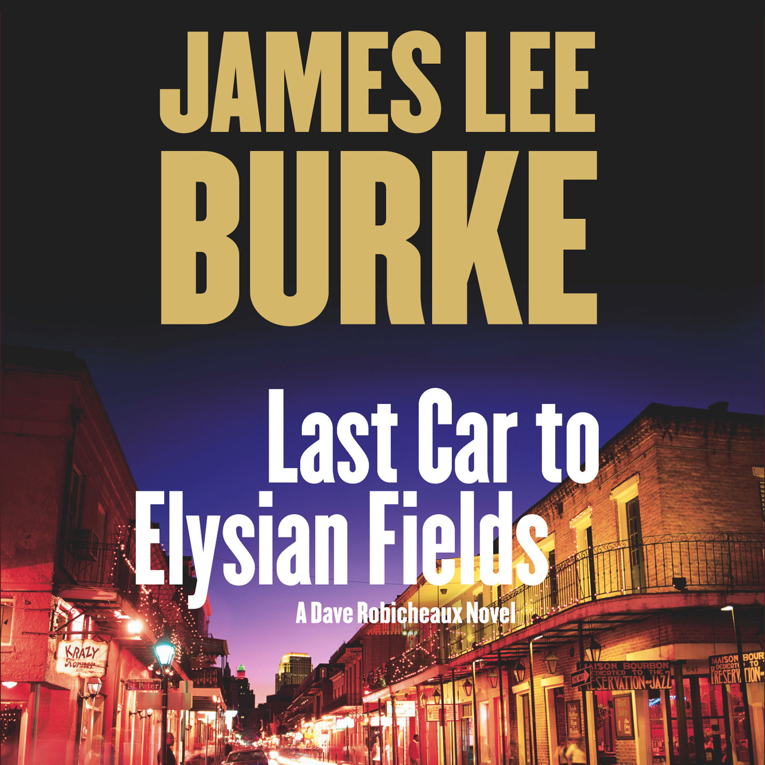Printable Last Car to Elysian Fields: A Novel Audiobook Cover Art