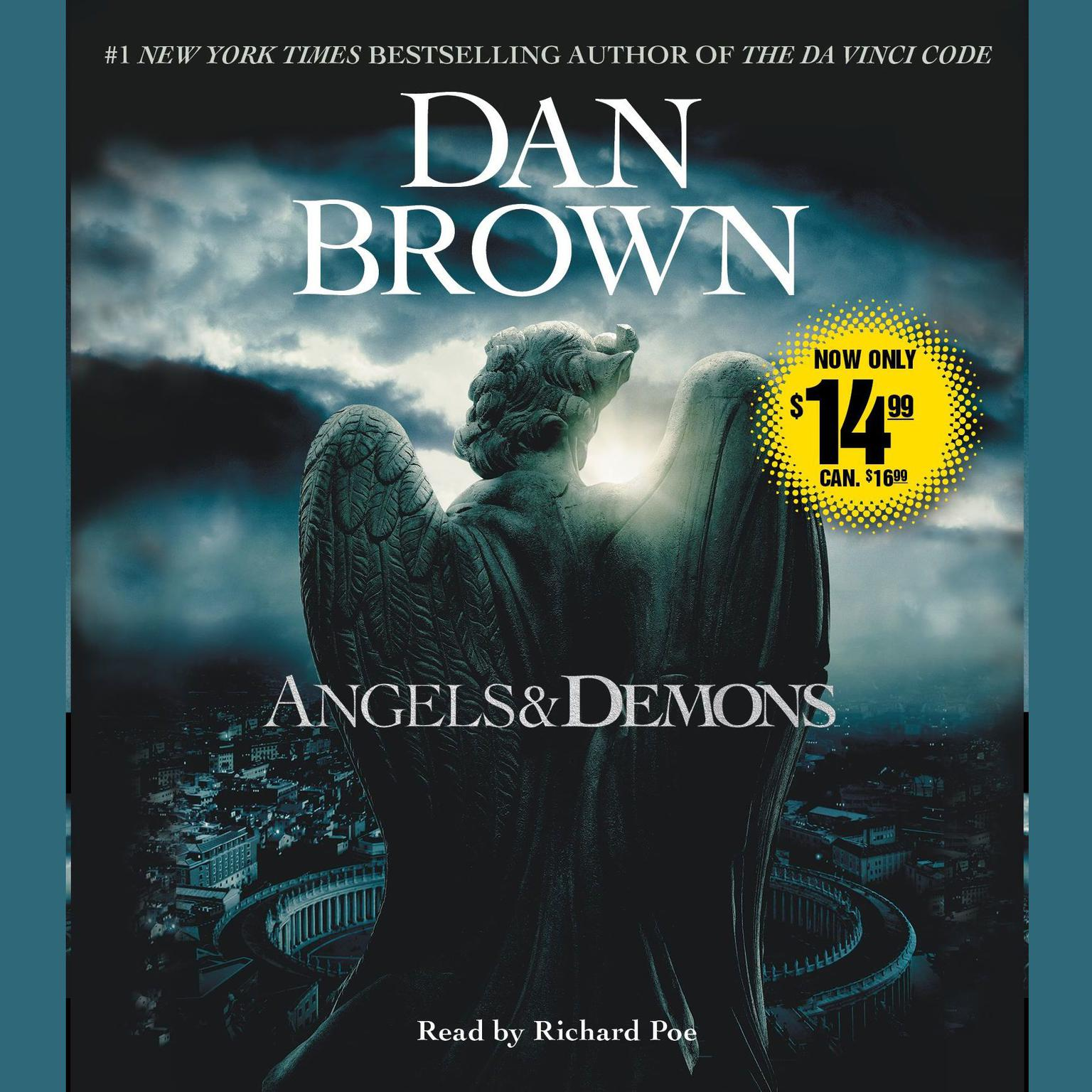 Printable Angels & Demons: A Novel Audiobook Cover Art