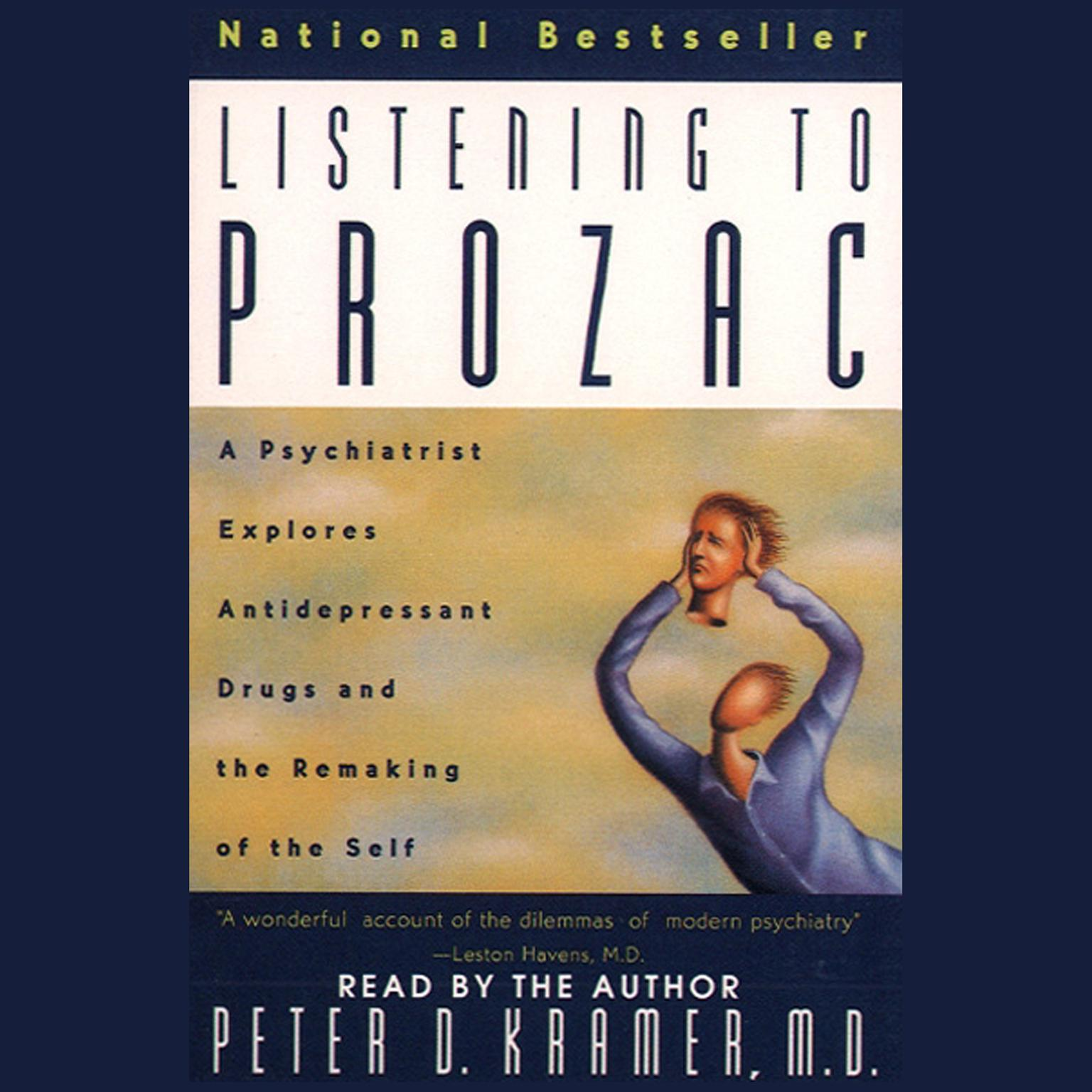Printable Listening to Prozac Audiobook Cover Art