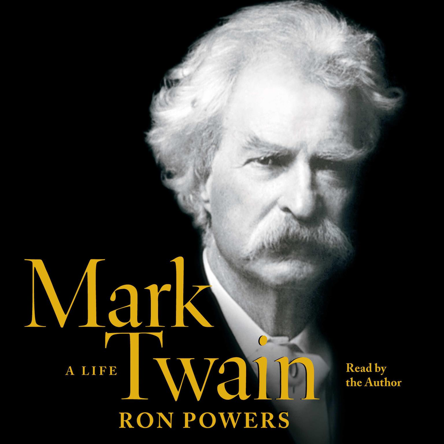 Printable Mark Twain: A Life Audiobook Cover Art