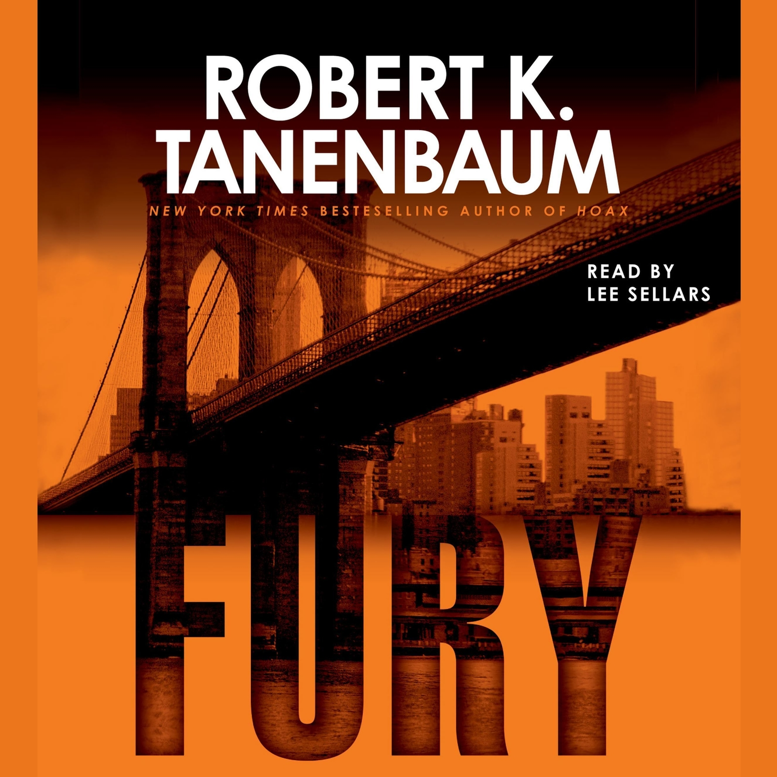Printable Fury Audiobook Cover Art