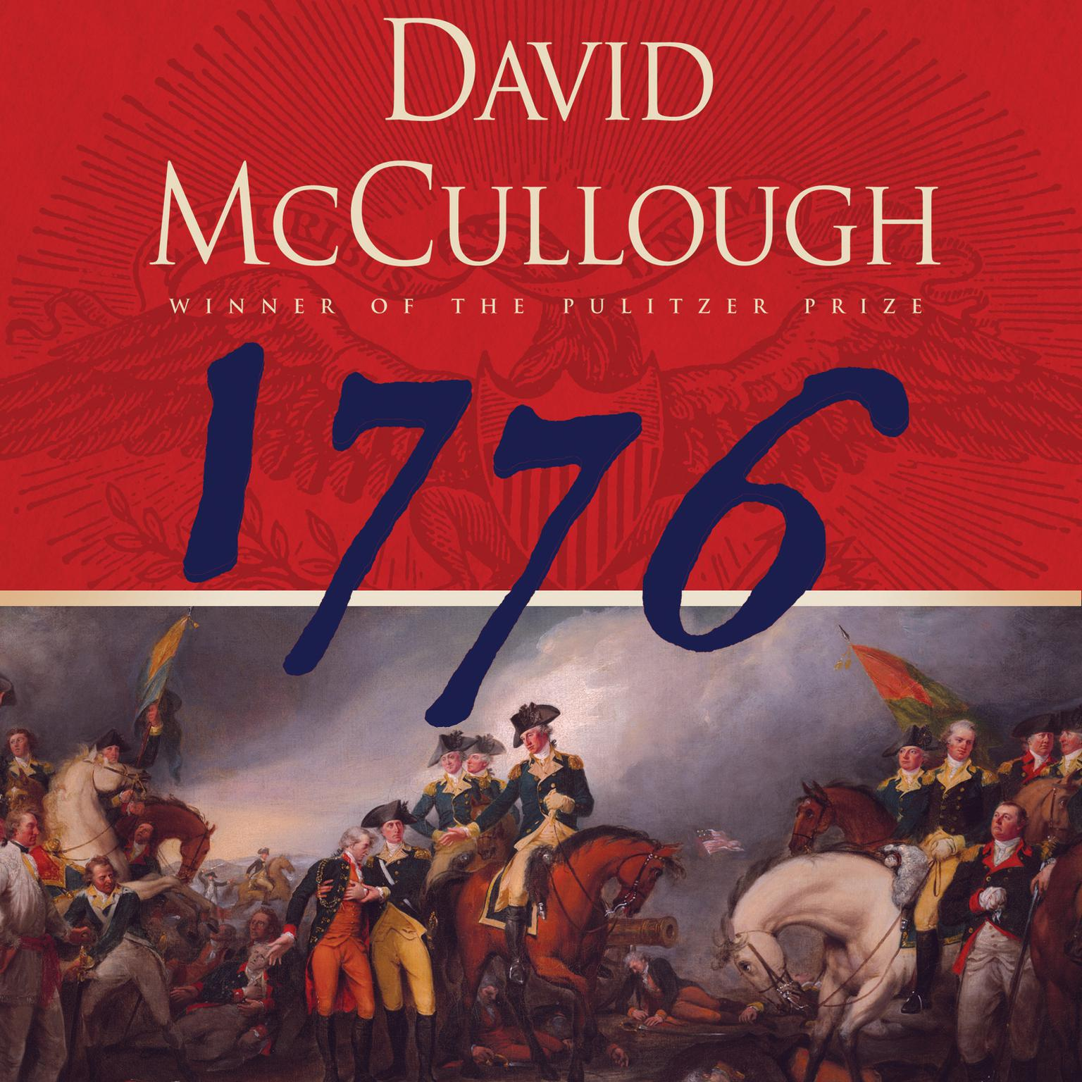 Printable 1776 Audiobook Cover Art